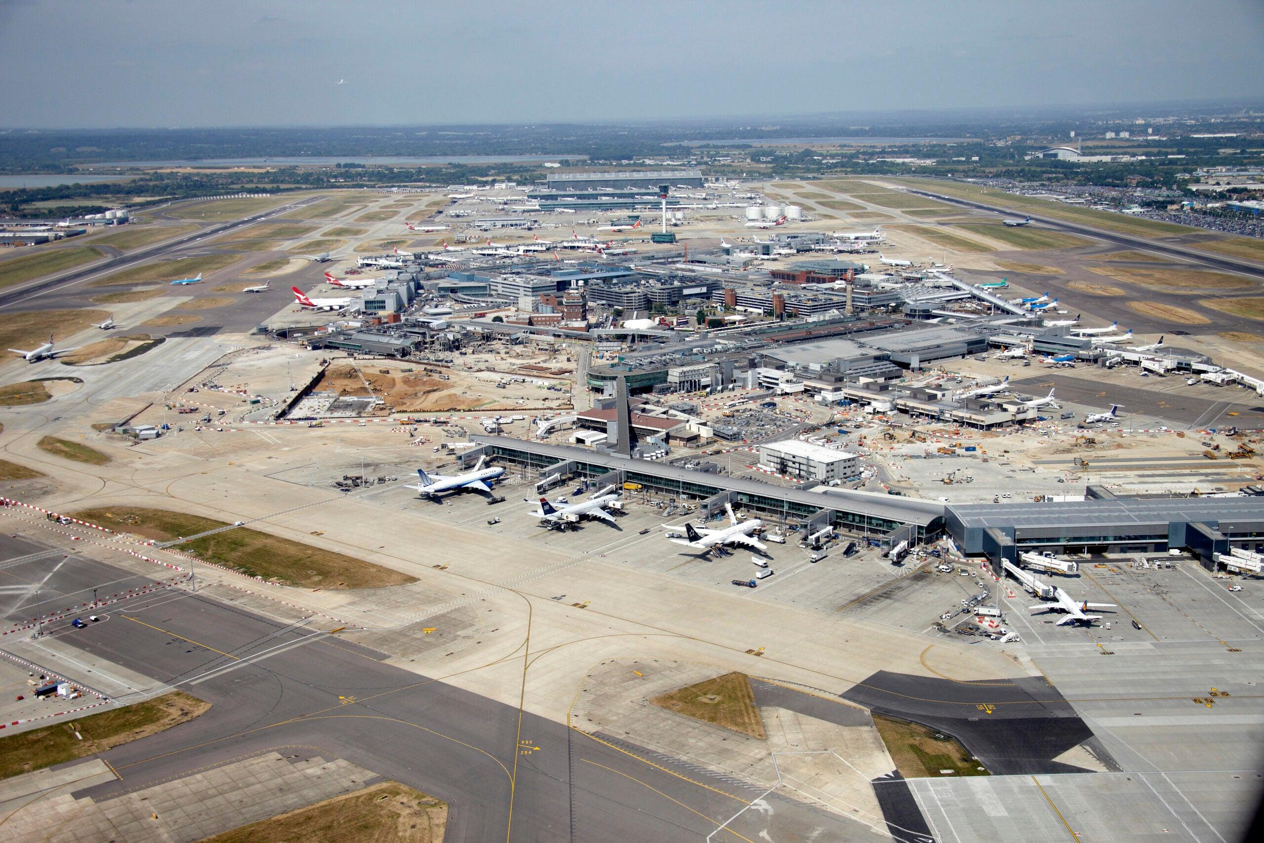 Heathrow loses title as busiest airport in Europe