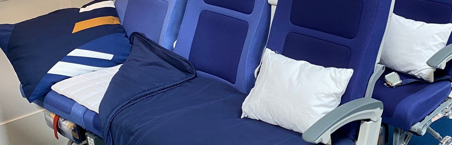 Lufthansa expanding lie-flat economy Sleeper Row seat to more flights - The Points Guy UK