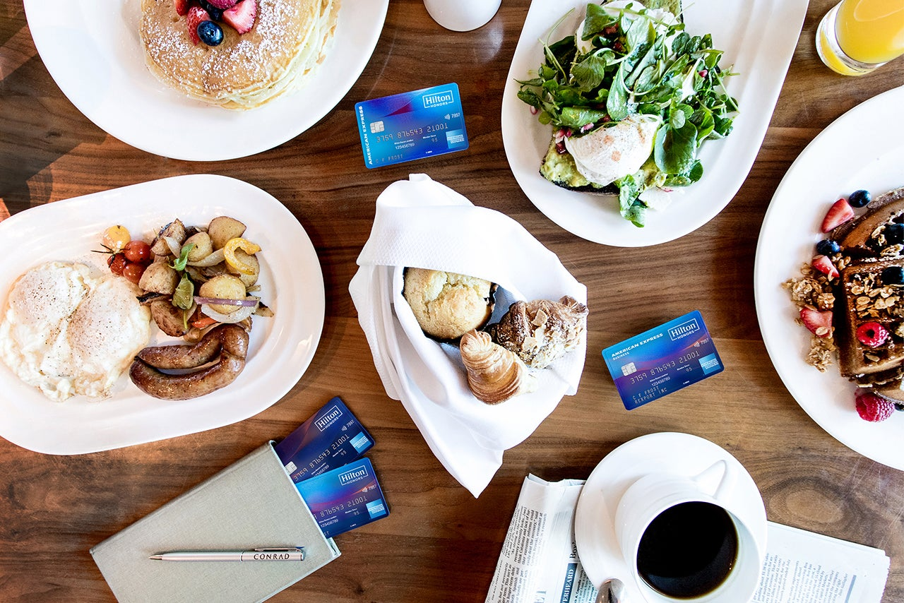Amex unveils full slate of limited-time perks on Delta, Hilton and Marriott cards