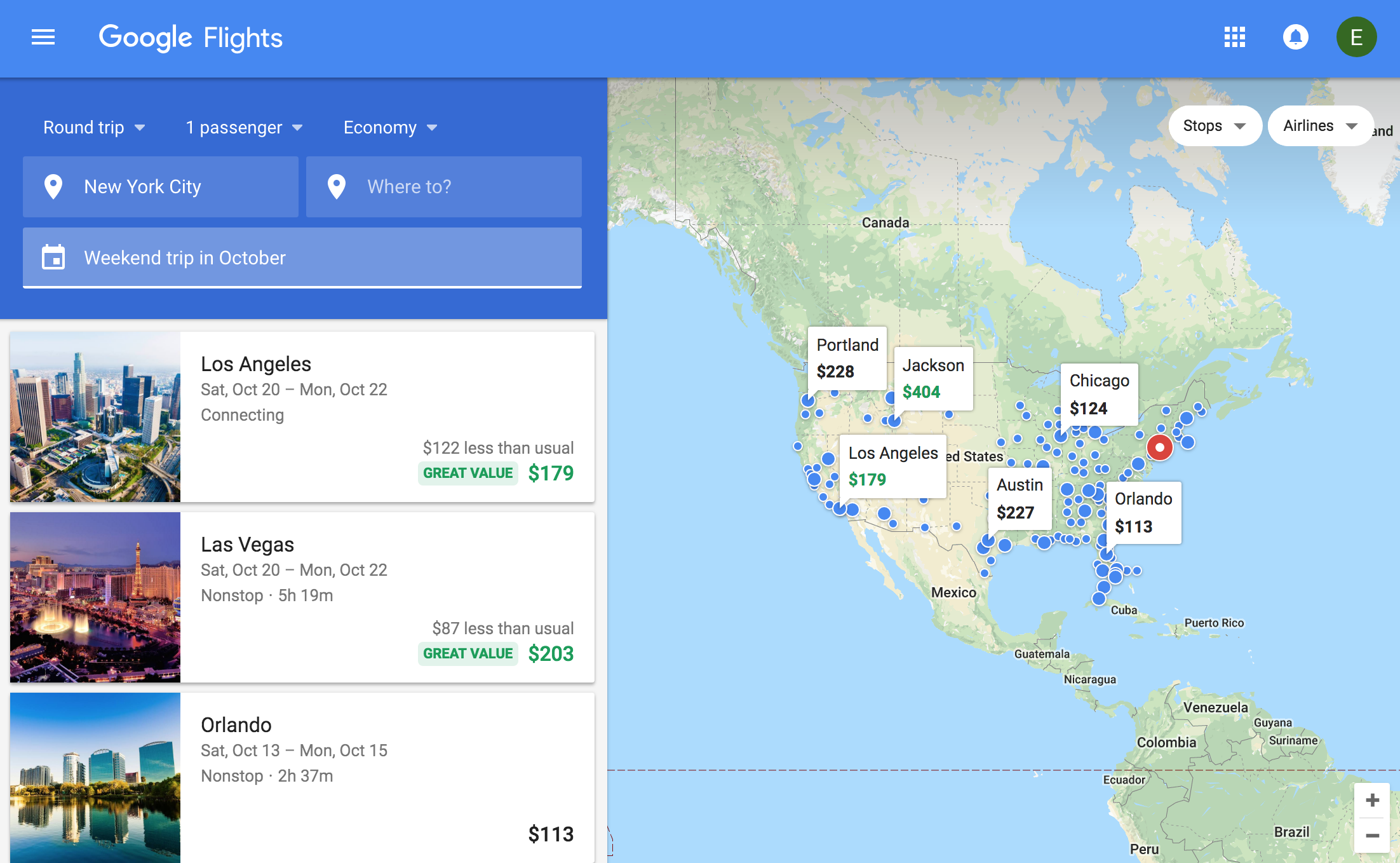 Google Flights Introduces 2 New Features to Help You Find the Cheapest Fares for Holiday Travel