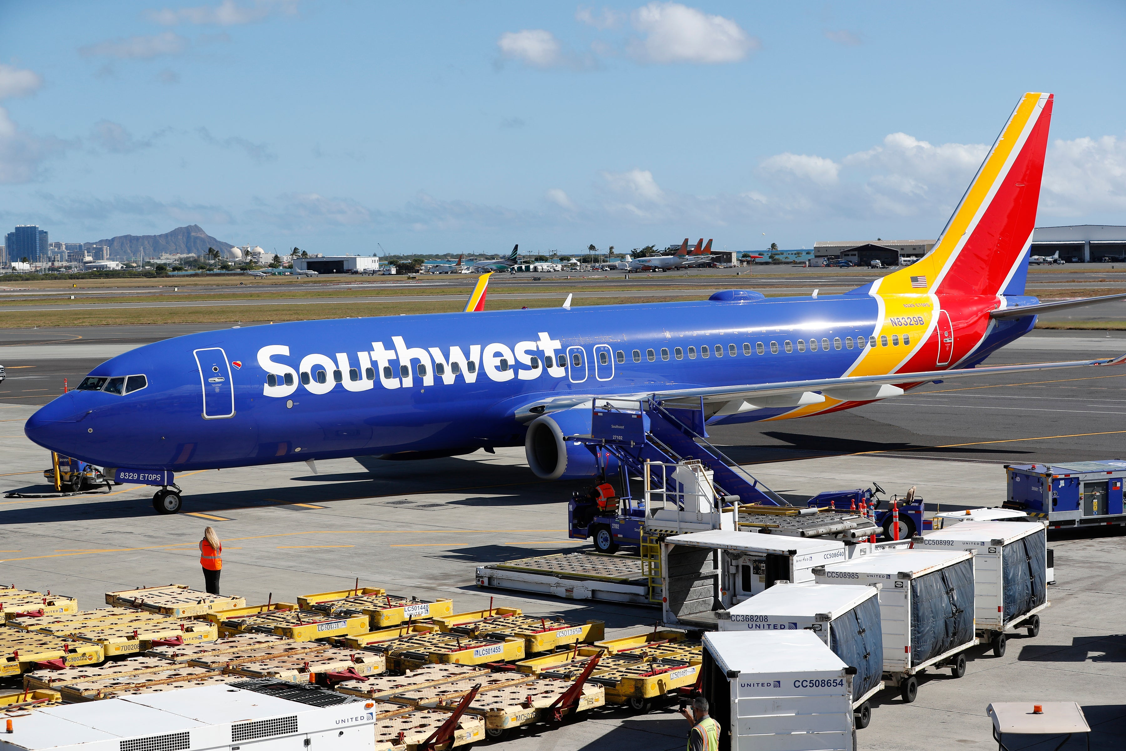Southwest Airlines is using the coronavirus to solidify its dominance in California