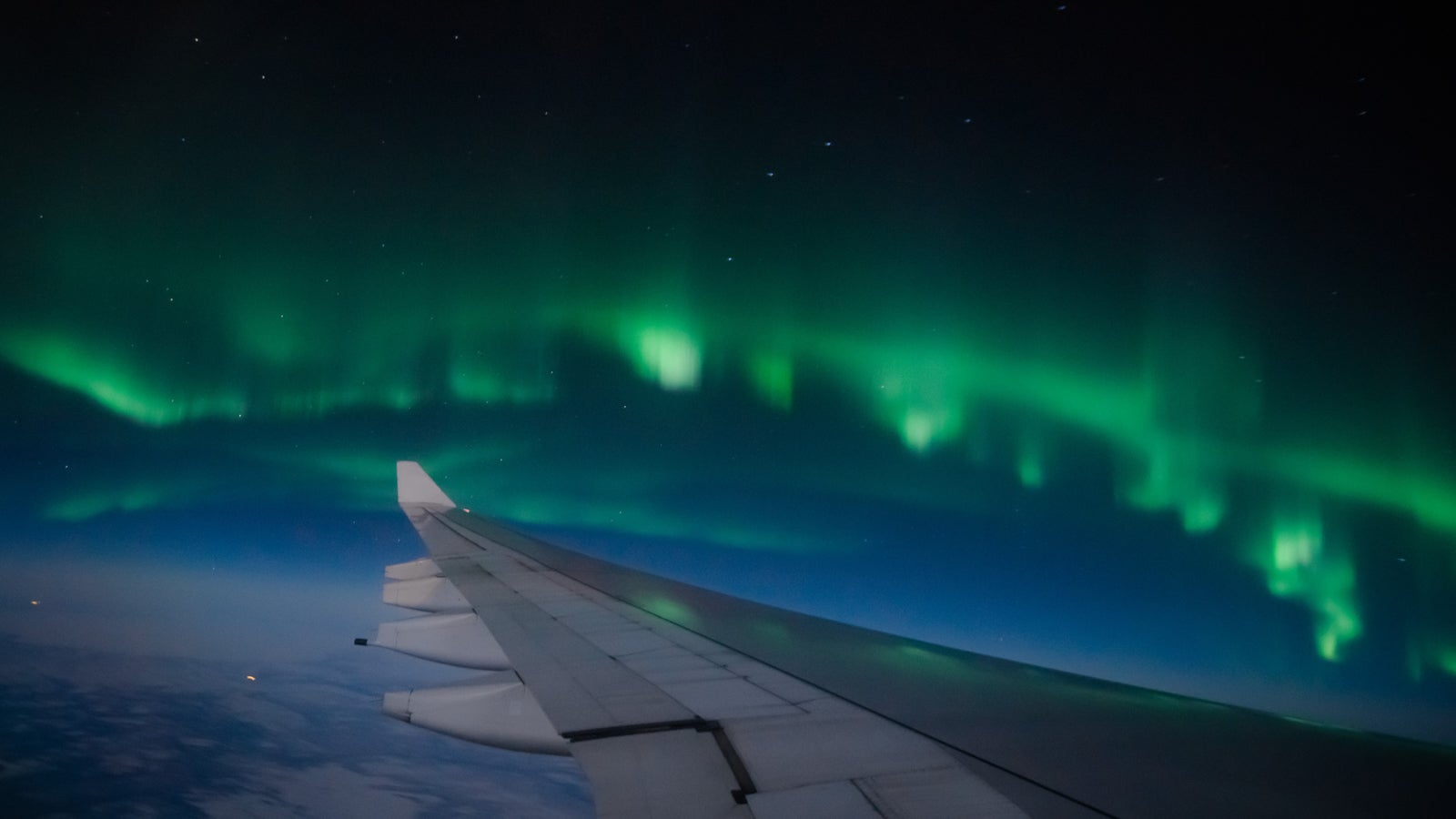 How to See the Northern Lights From a Plane - The Points Guy