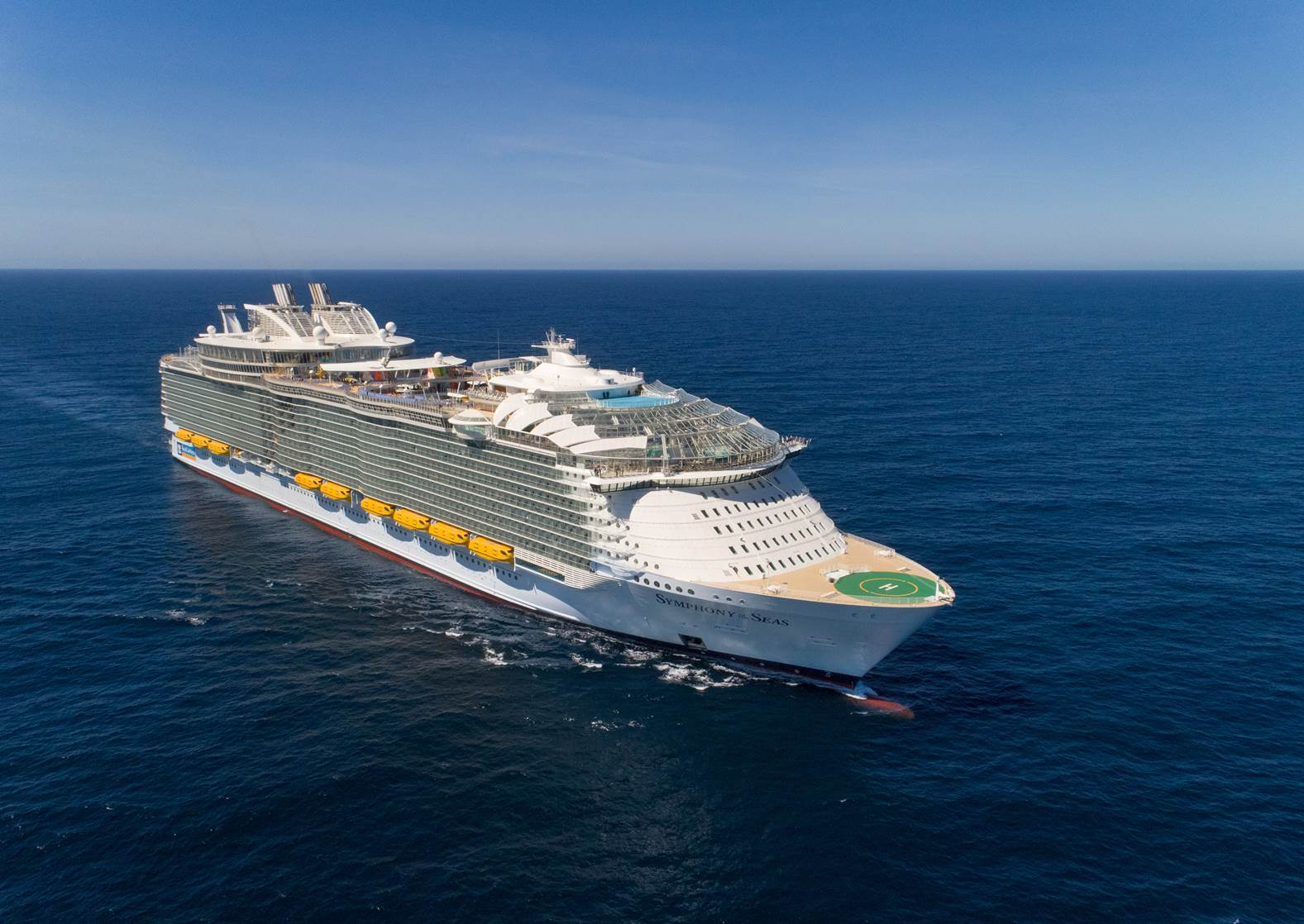The 4 new giants of the cruise ship world – and how you can book them