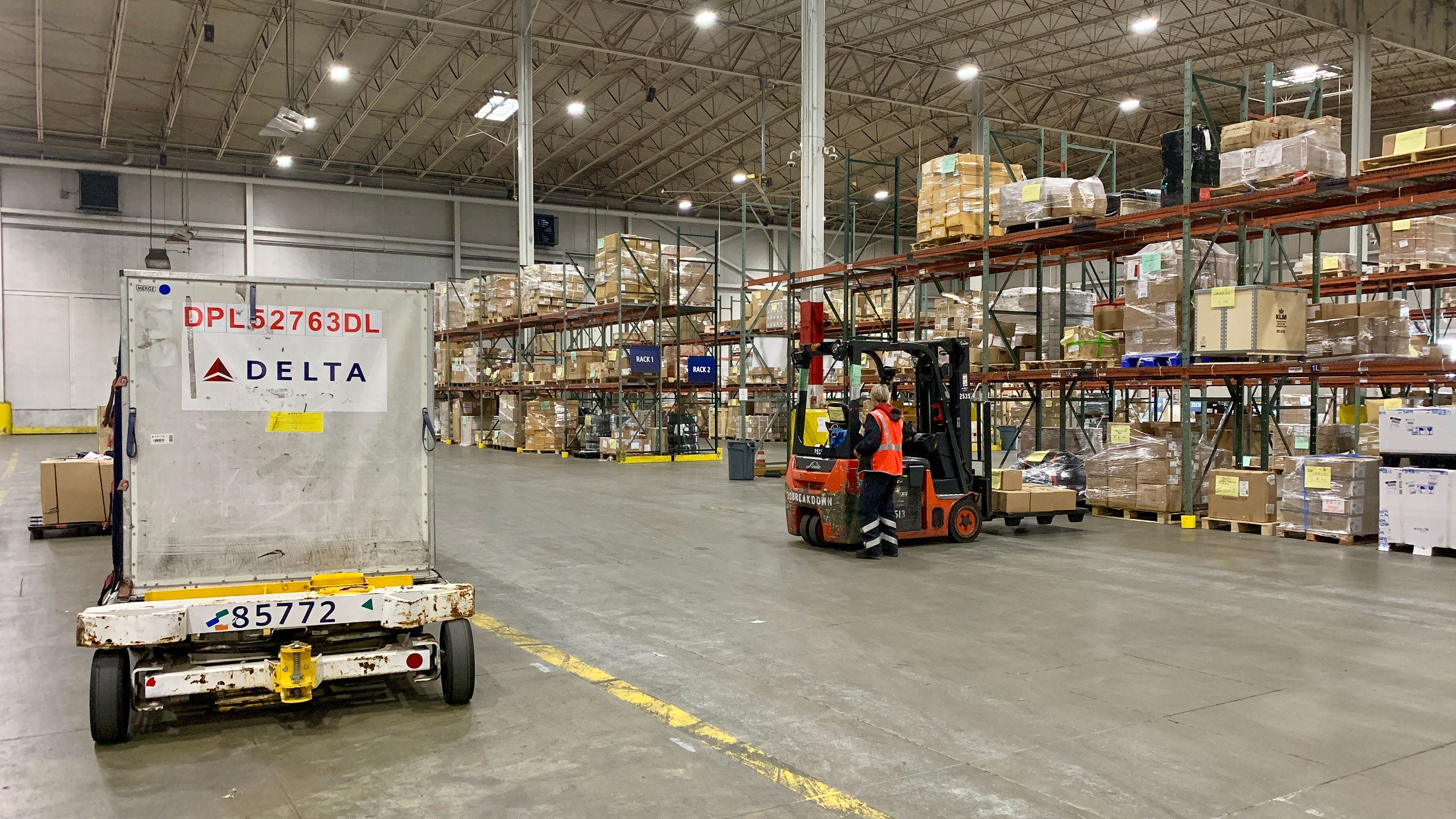 Behind The Scenes At Delta S Cargo Hub