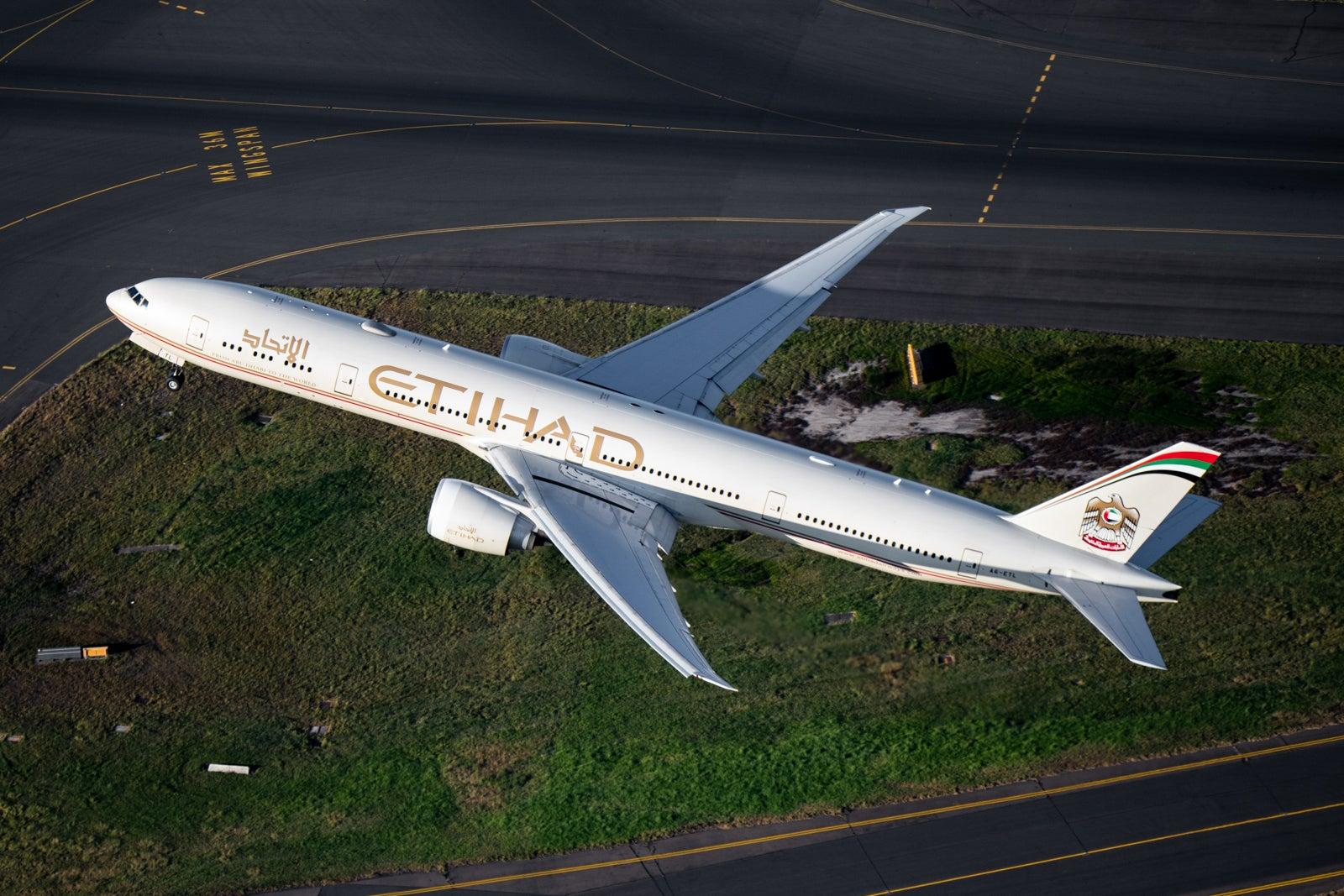 Etihad plans to retire Boeing 777 fleet in major wide-body shift