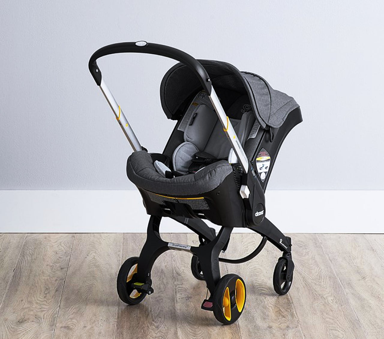 Meet The Car Seat That Converts Into A Stroller In Seconds The Doona