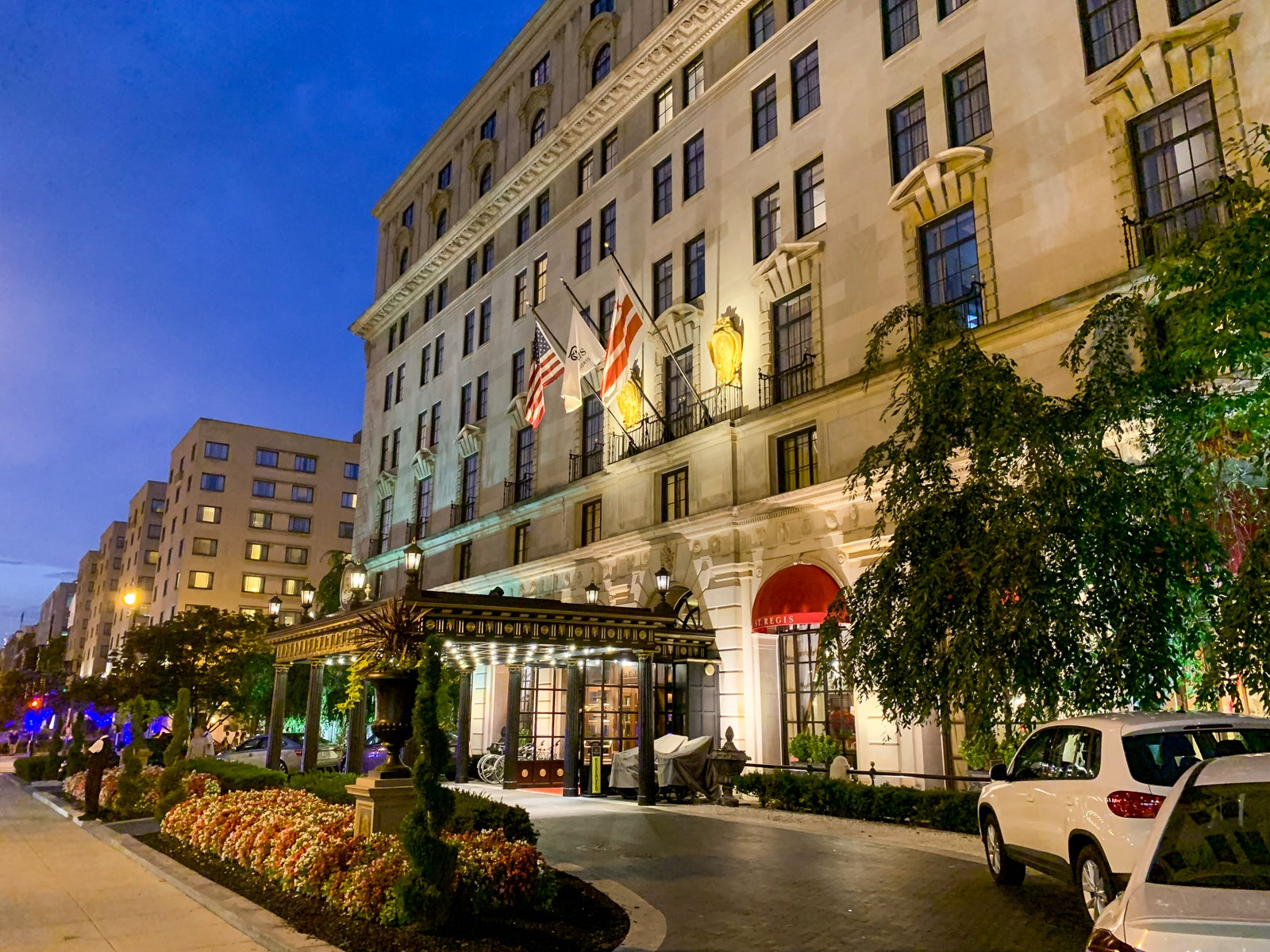 A Review of The St. Regis Washington DC
