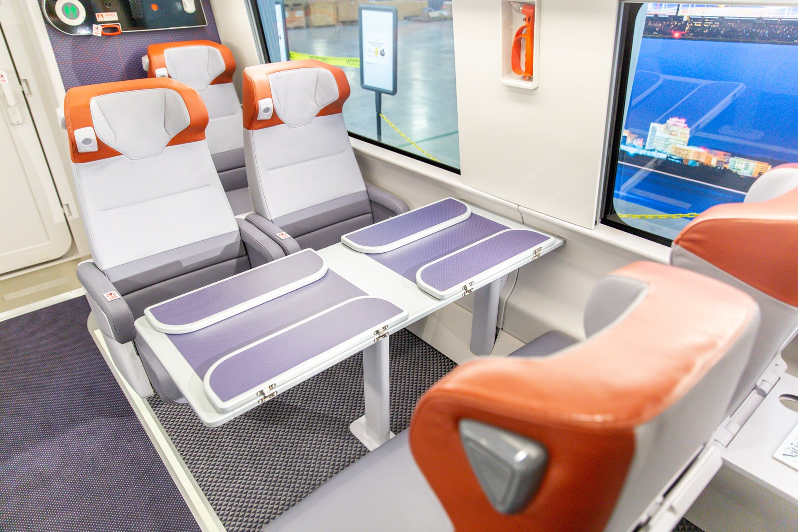 Amtrak Shows off the New Acela Interiors You'll See in 2021