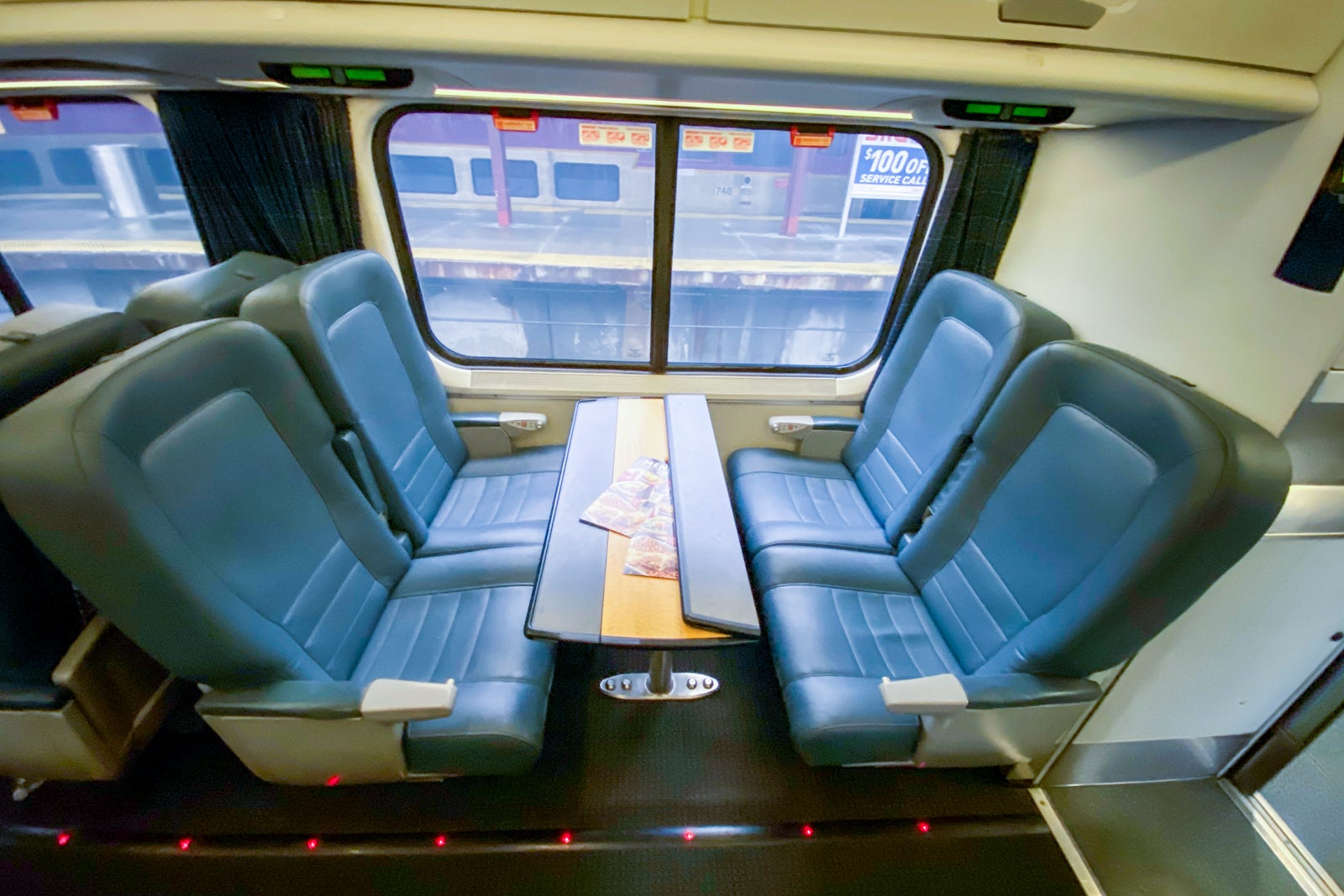A review of Amtrak's Acela business class