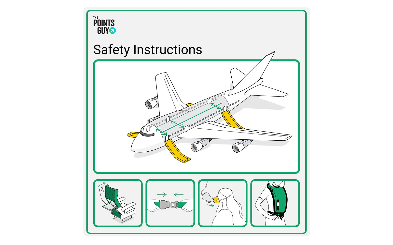 Your attention, please: An explanation of airplane safety briefings