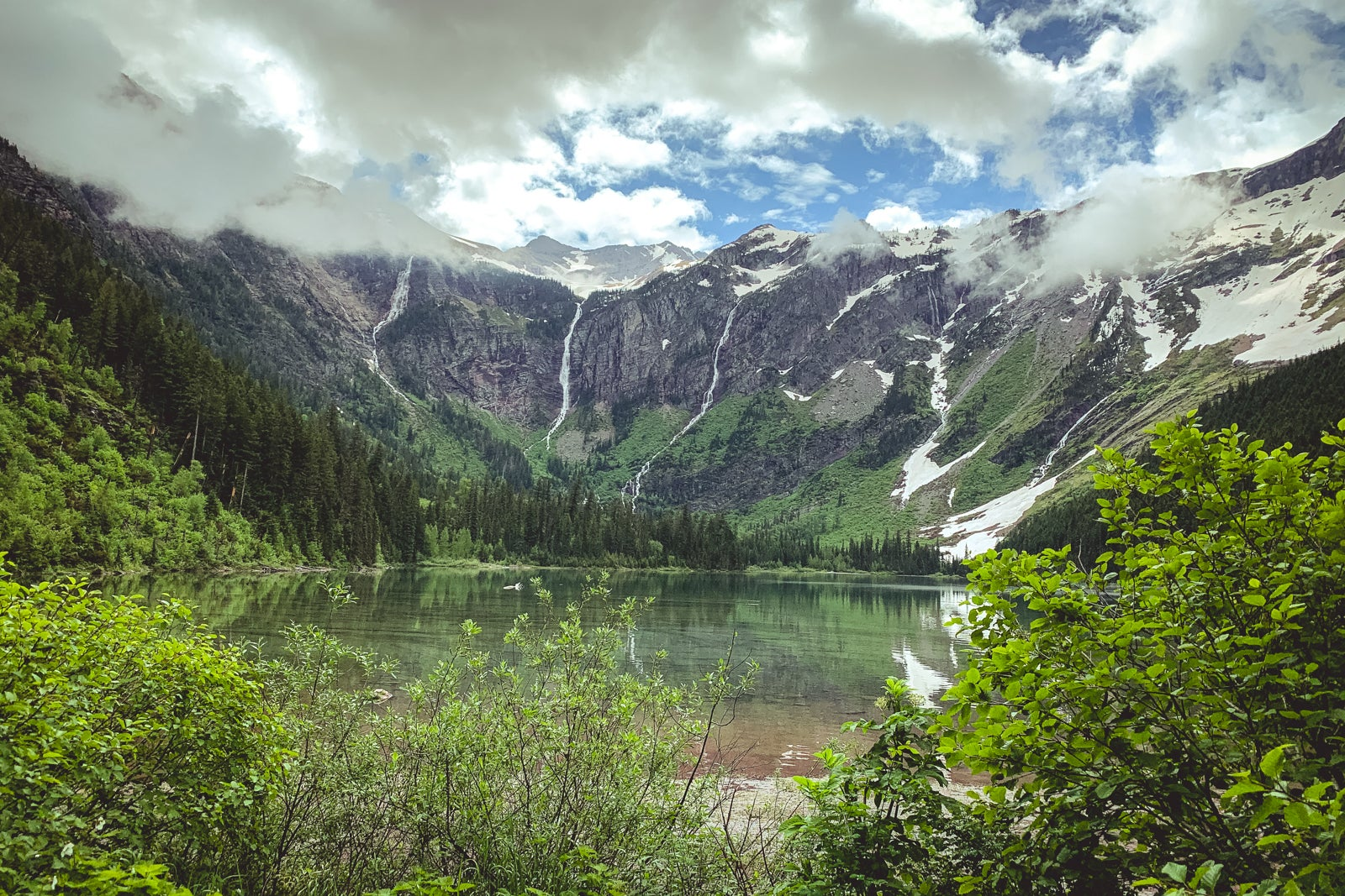 I went to Glacier and Yellowstone during COVID, and it was weird