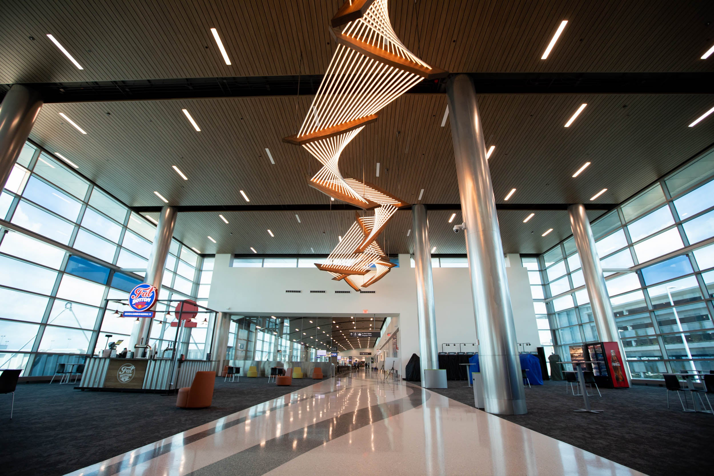 Nashville opens new concourse for Southwest Airlines