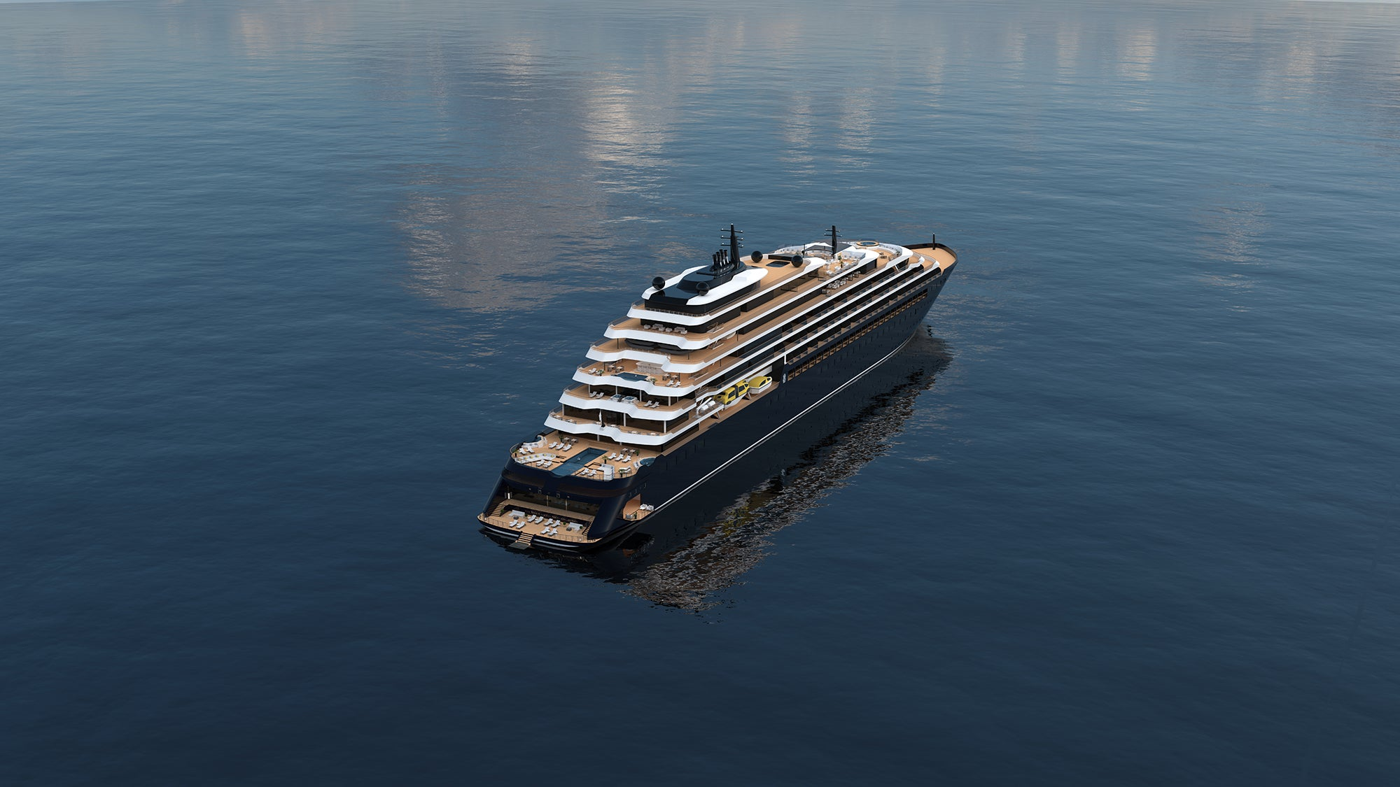 The launch of Ritz-Carlton's new cruise line is delayed yet again