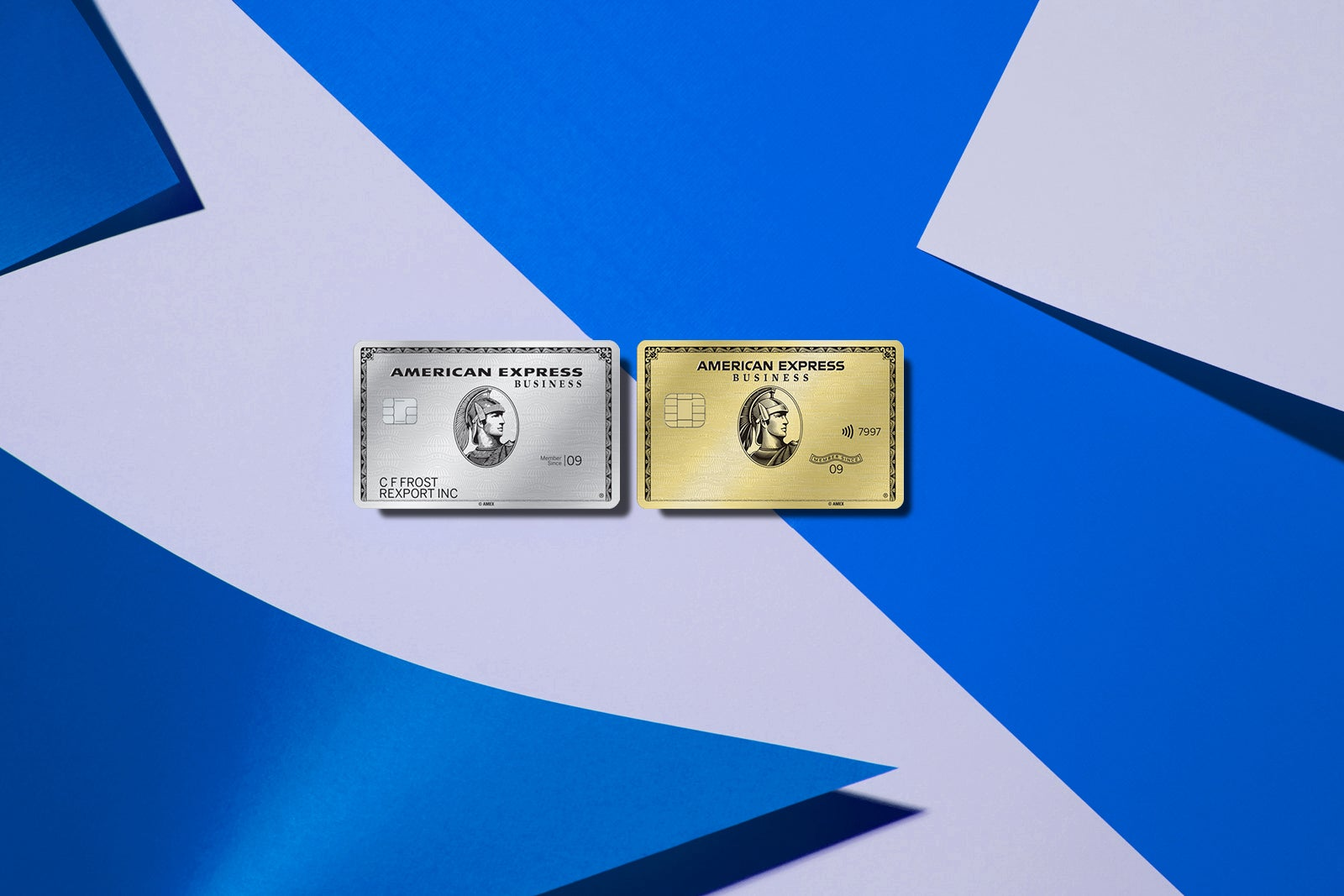 American Express Gold and Platinum cards