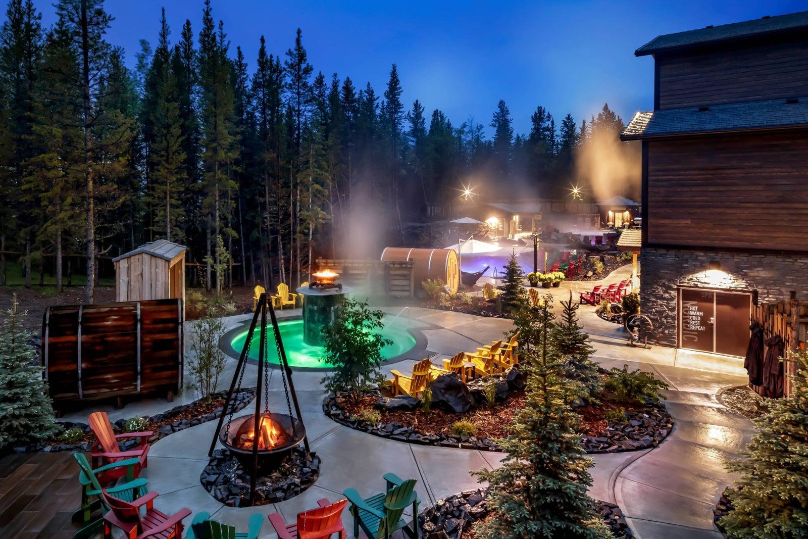 The Kananaskis Mountain Lodge. (Photo courtesy of Marriott)