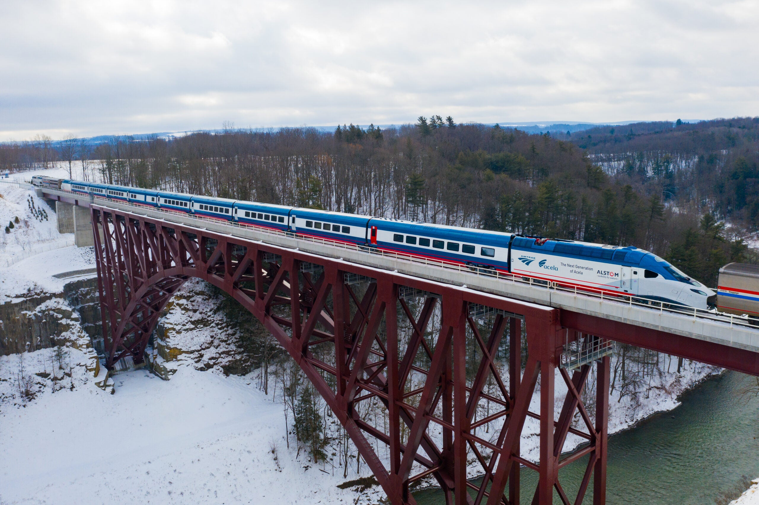 Amtrak shows off video of new Acela high-speed trains; Service set for late 2021