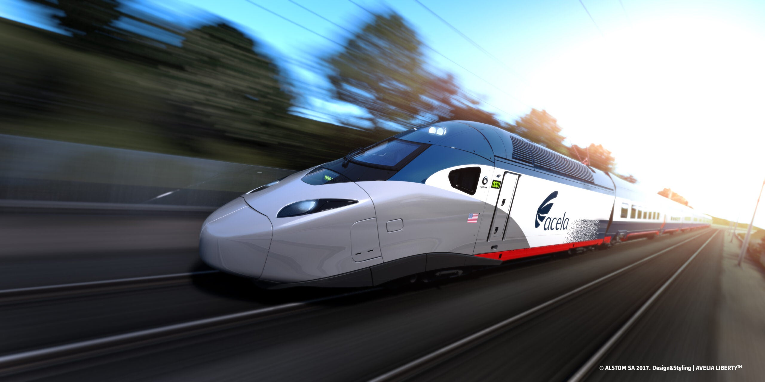 The brand new Amtrak Acela fleet is coming; Here's a look inside the new trains