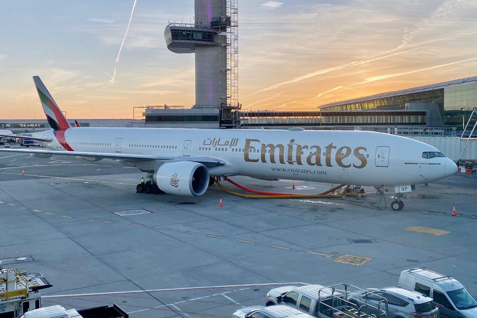 What it's like flying Emirates first class during the pandemic