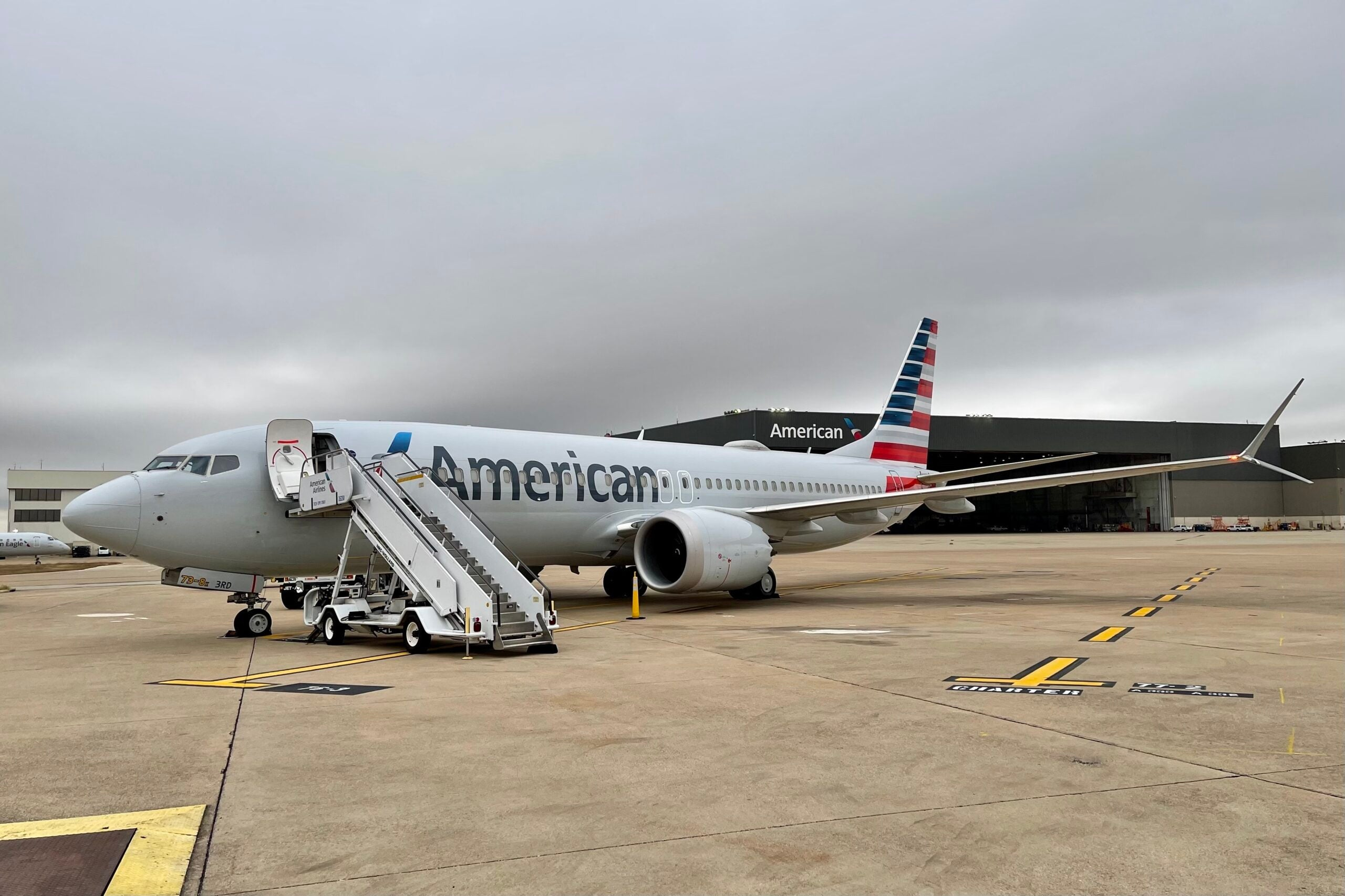 BREAKING: American Airlines flies first public 737 MAX since 2019 grounding