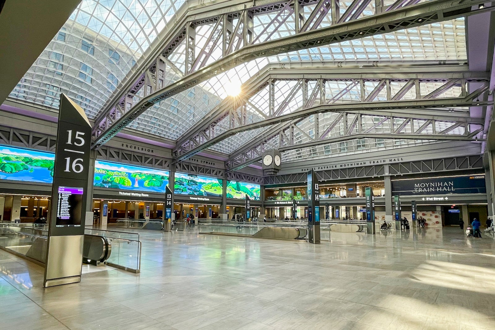 Moynihan Train Hall brings modernity to NYC's Penn Station with skylights galore
