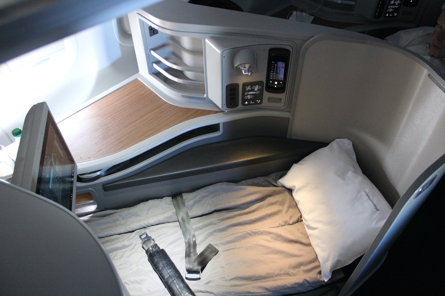 American Airlines A321T First Class Seat