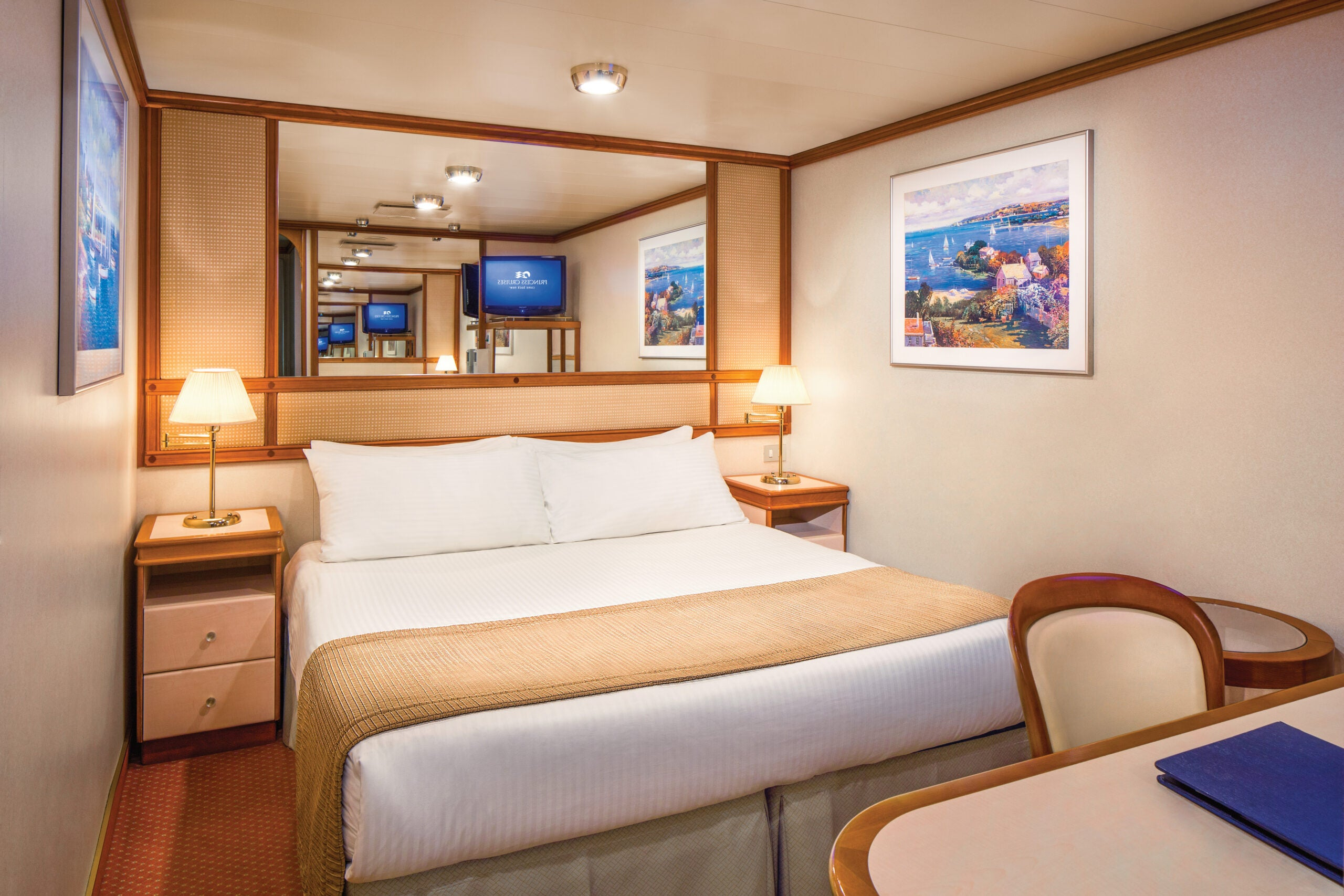 It's not as bad as you think: When you might want to consider booking a windowless 'inside' cabin on a cruise ship