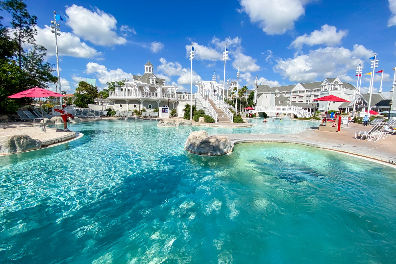Hotel with the best pool complex at Disney World: Review of Disney's Yacht Club Resort - The Points Guy