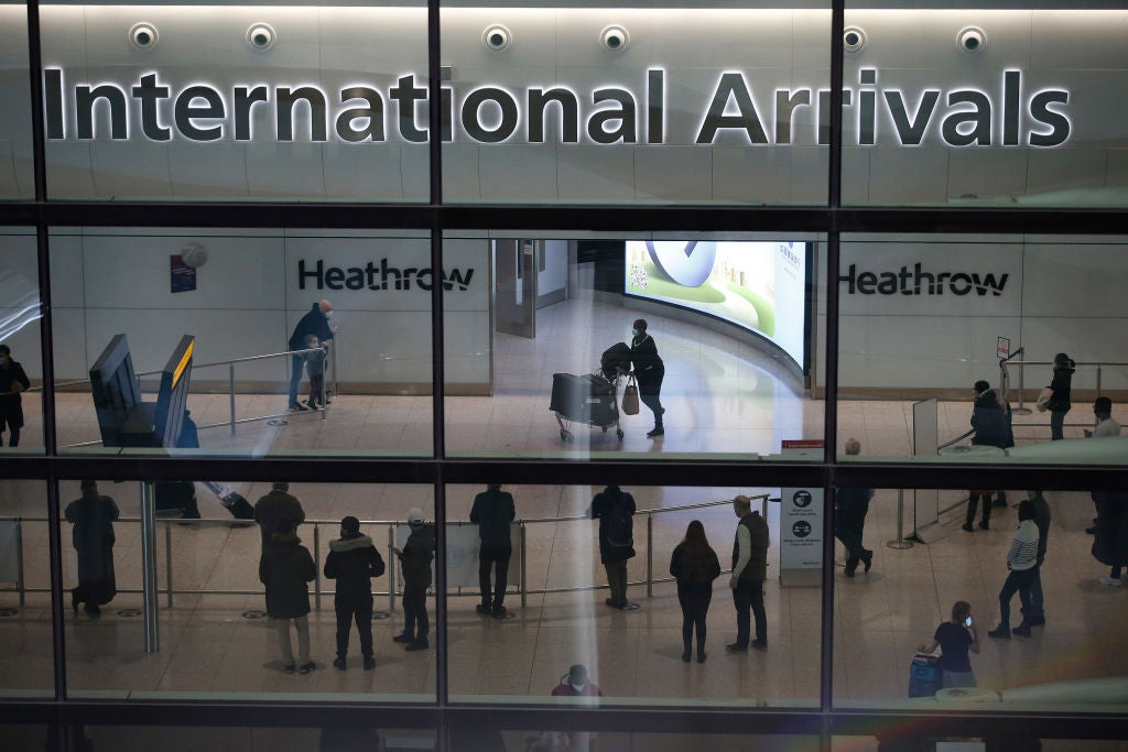 England to allow fully vaccinated Americans and EU travelers without quarantine from next week
