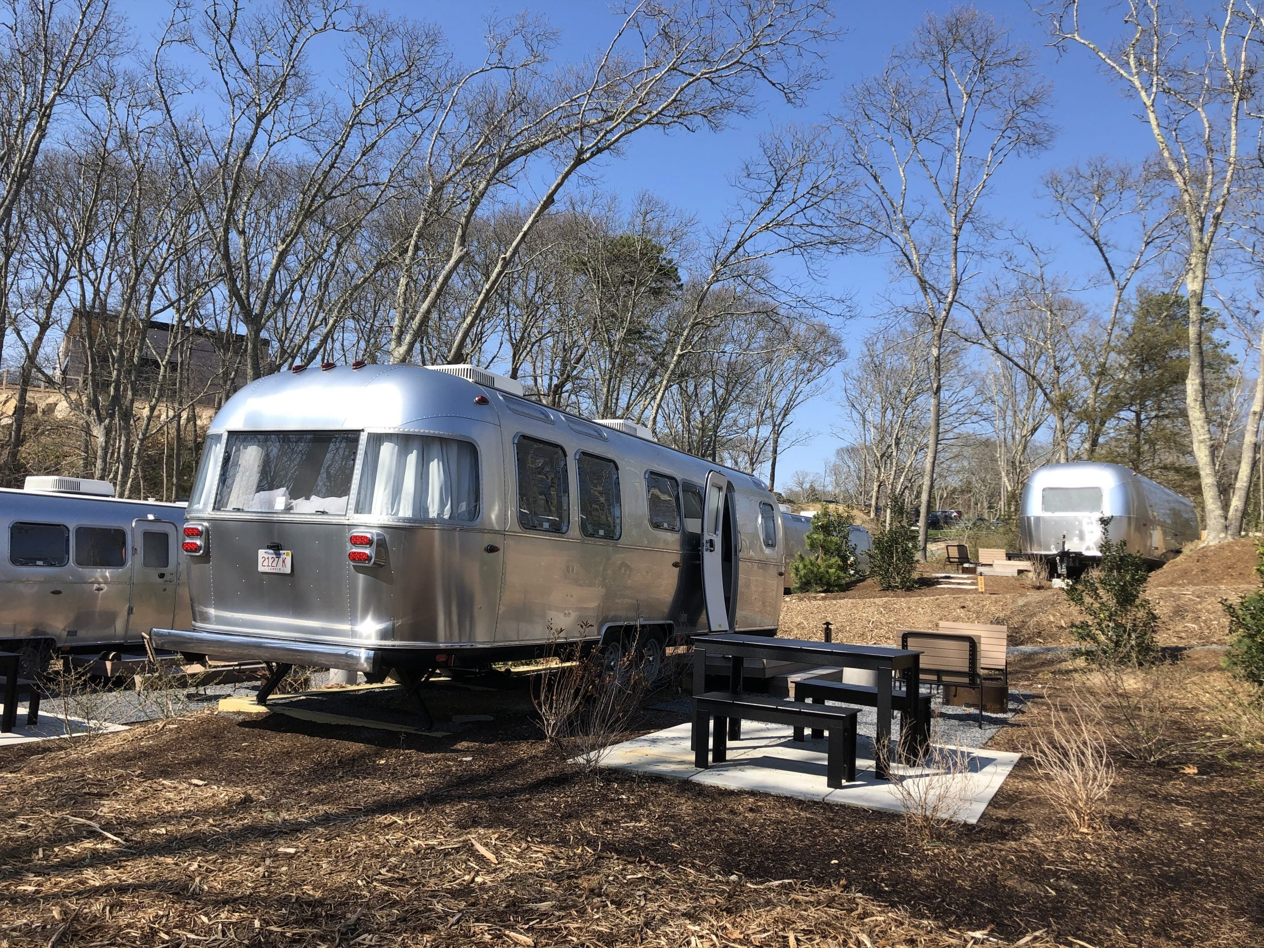 We stayed at an Airstream campground in Cape Cod and we're never going home - The Points Guy