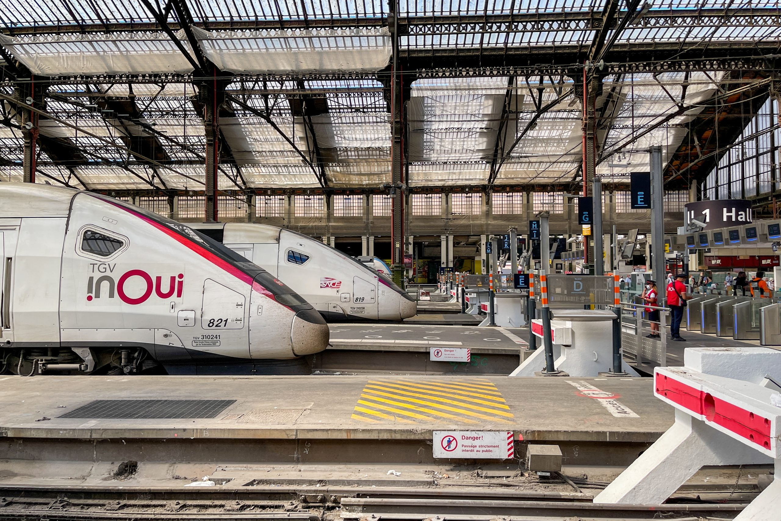 Business as usual: What it's like riding French high-speed rail right now