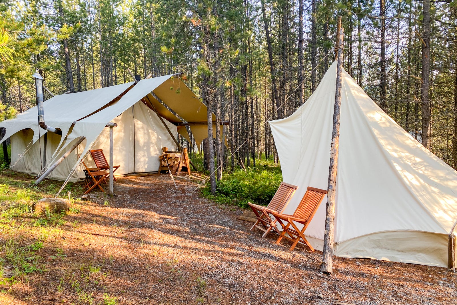 A non-camper tried 'glamping' with Under Canvas - here's what it's really like - The Points Guy