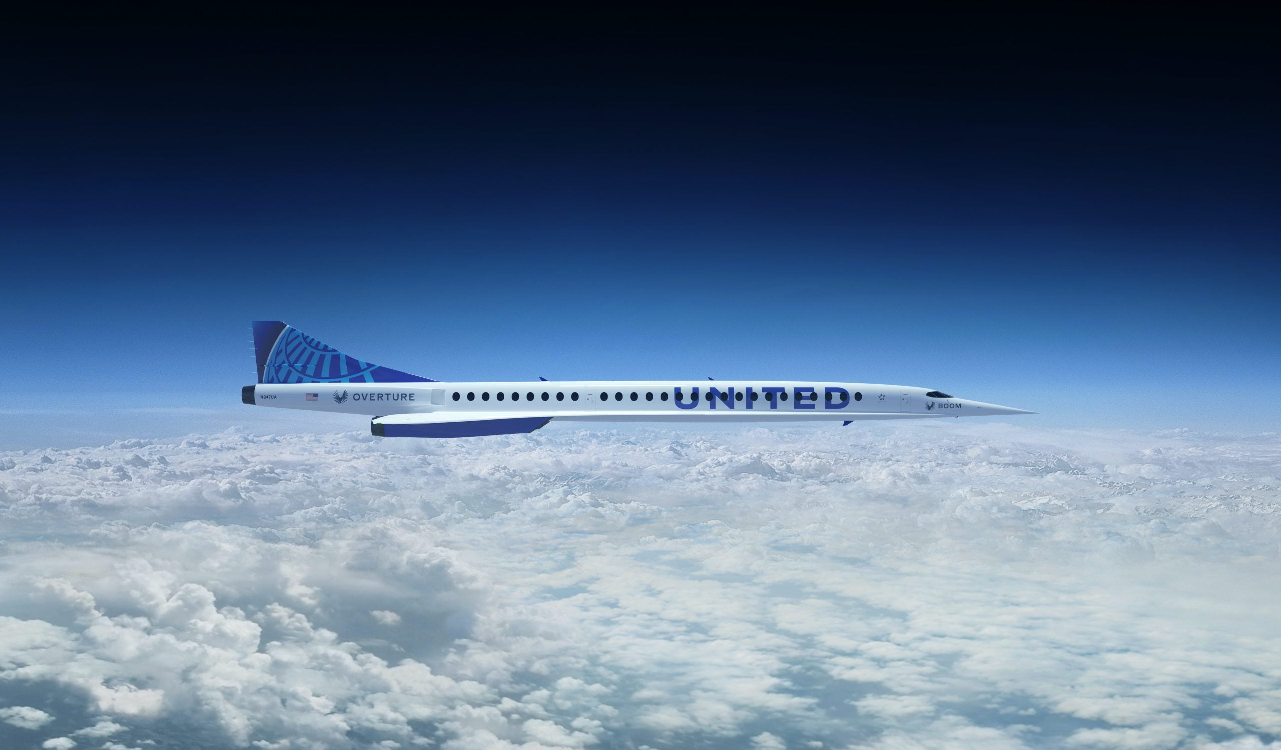 United Airlines announces deal with Boom Supersonic for faster-than-sound commercial flights