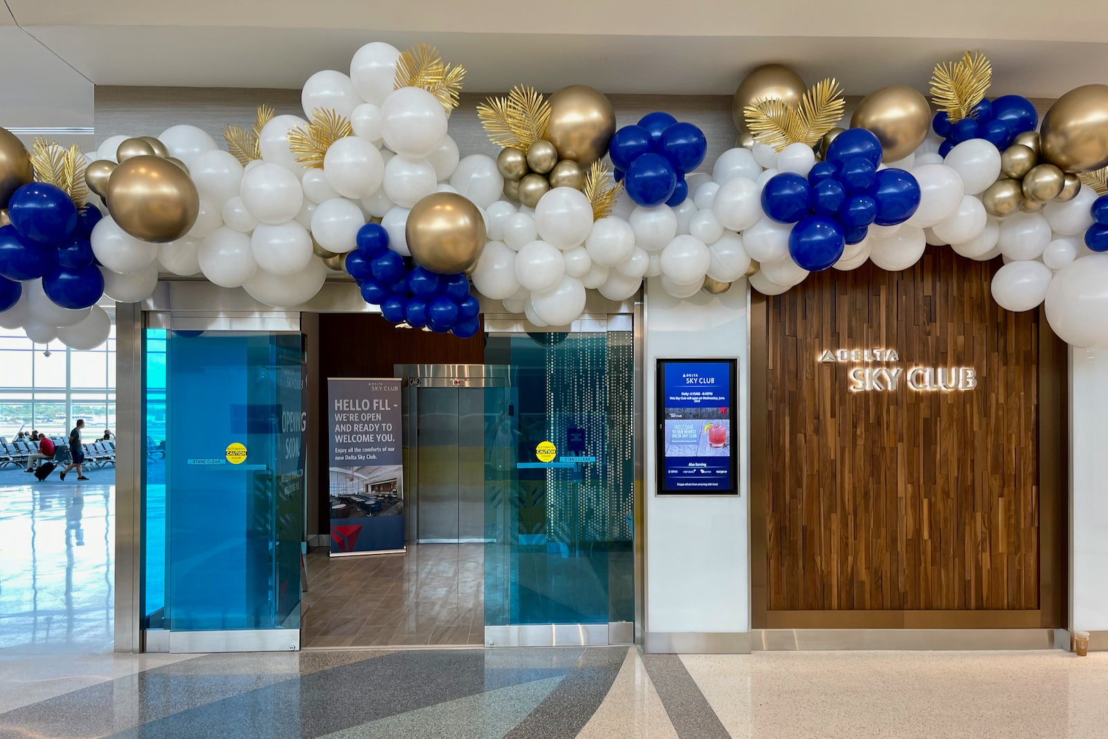 Delta's opening a snazzy new Sky Club in Fort Lauderdale — take a look inside