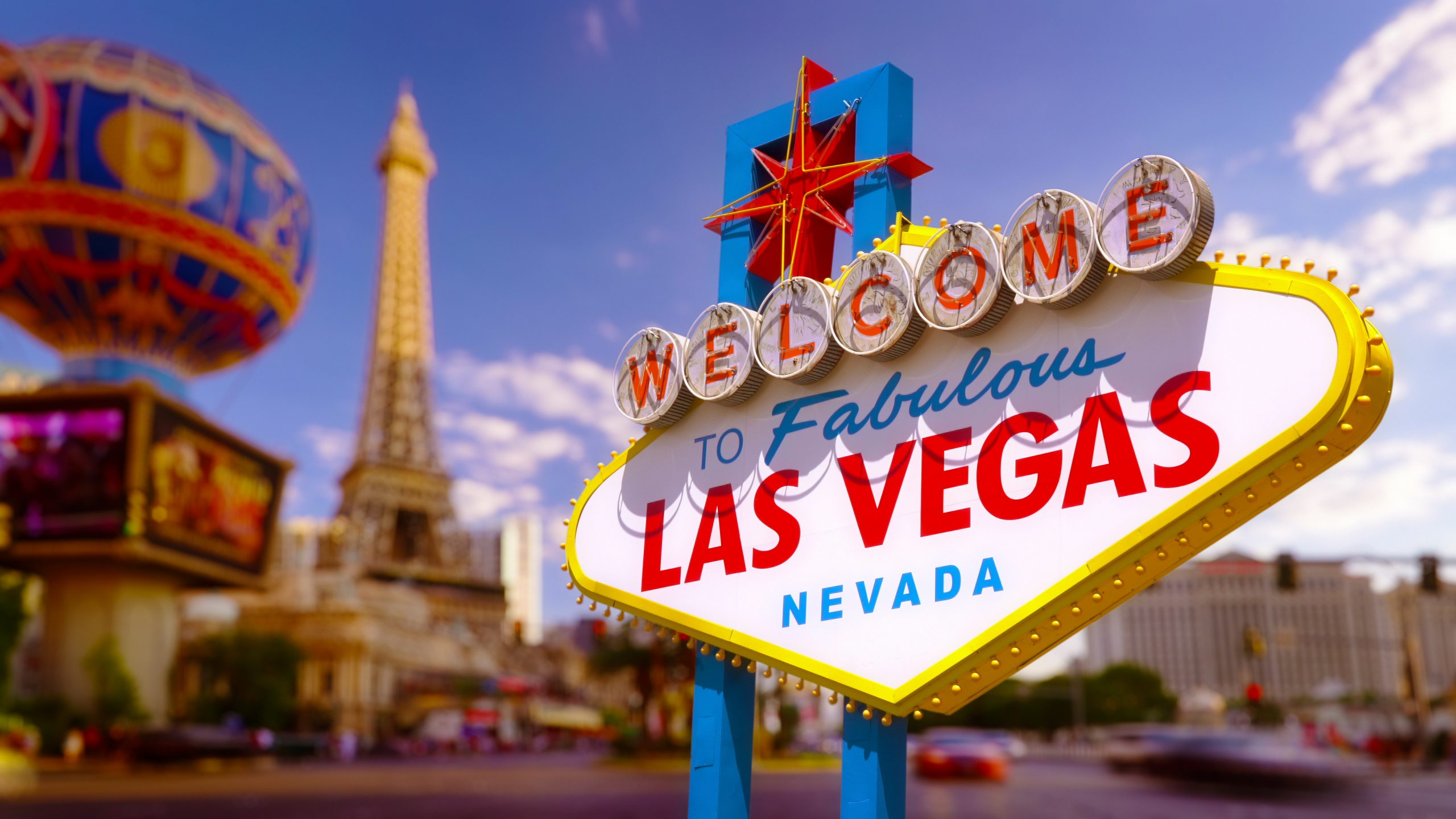 Las Vegas officially reopened today, but the crowds didn't wait