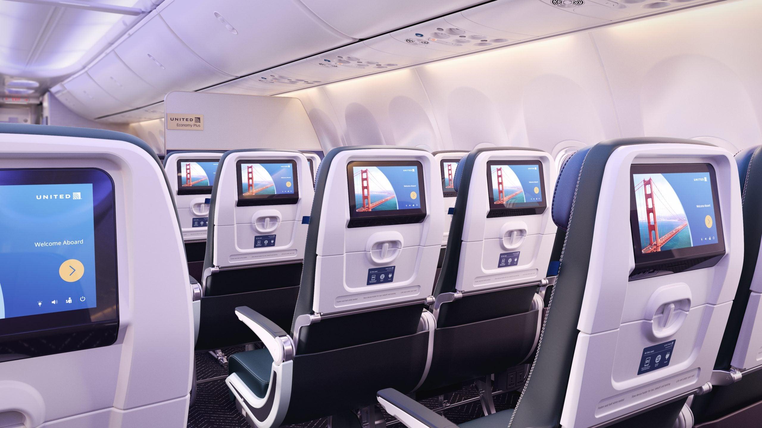 United places massive aircraft order, announces new narrow-body cabin  interiors and retrofit program