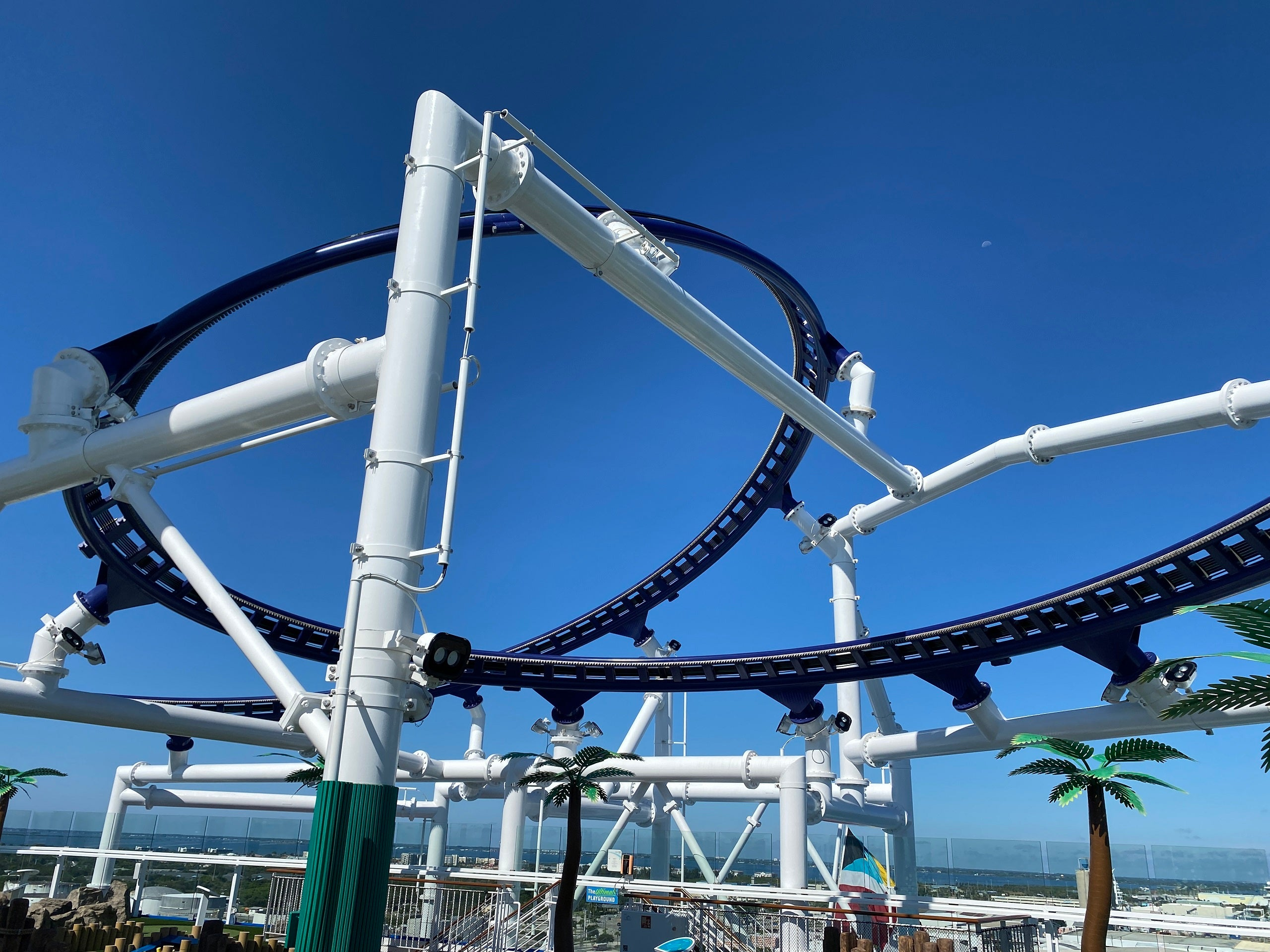 $15 for 30 seconds: What it�s like to ride the first-ever roller coaster at sea