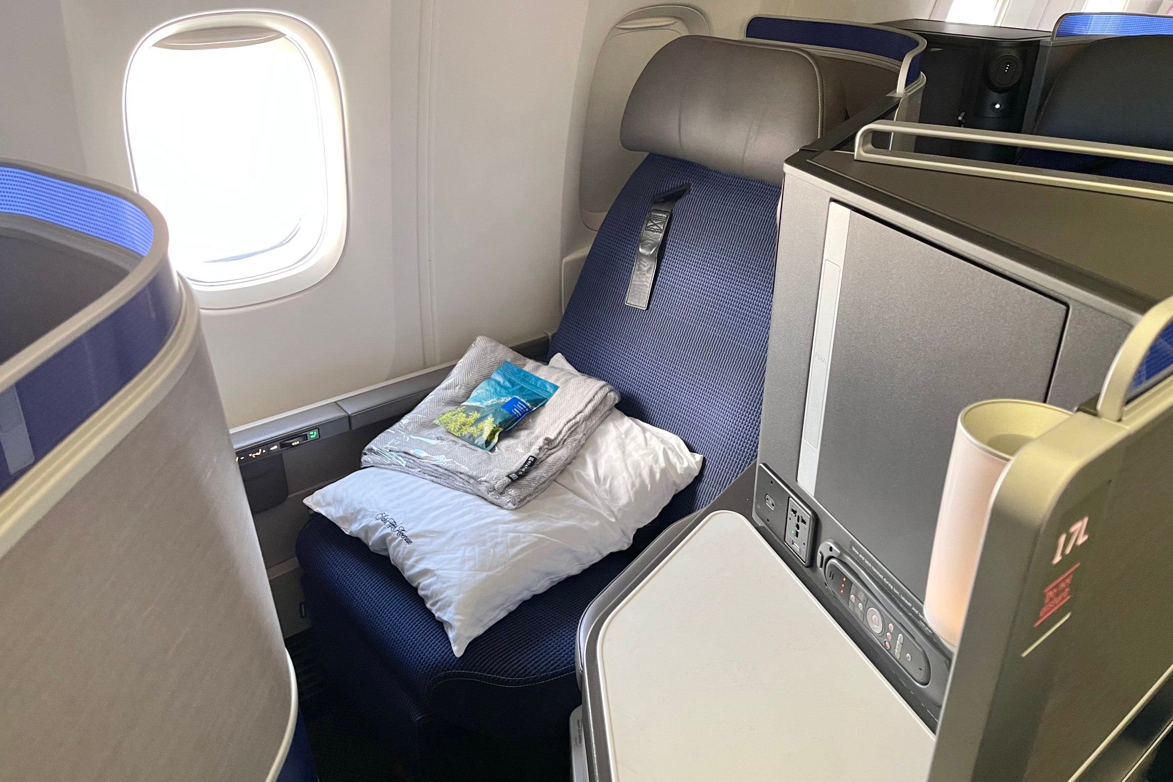 How to fly transcontinental in a lie-flat seat for 12,500 miles