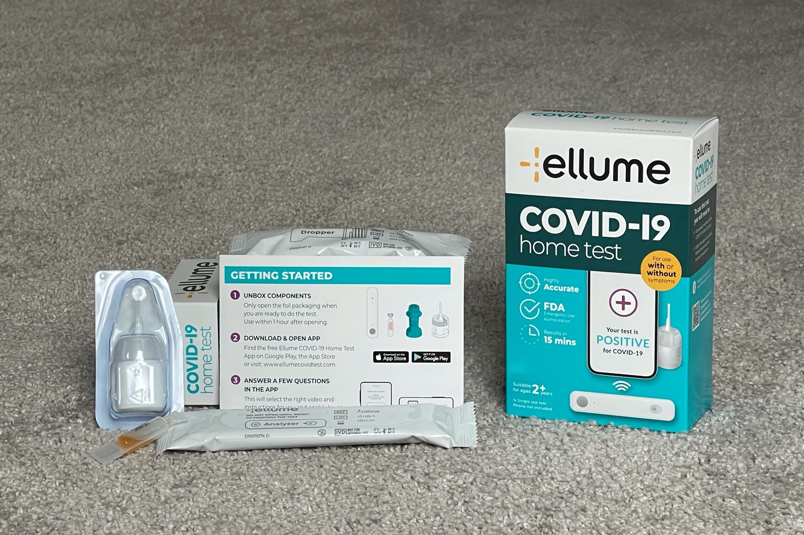 What it's like to use Ellume's $50 home test approved for travel to the United States