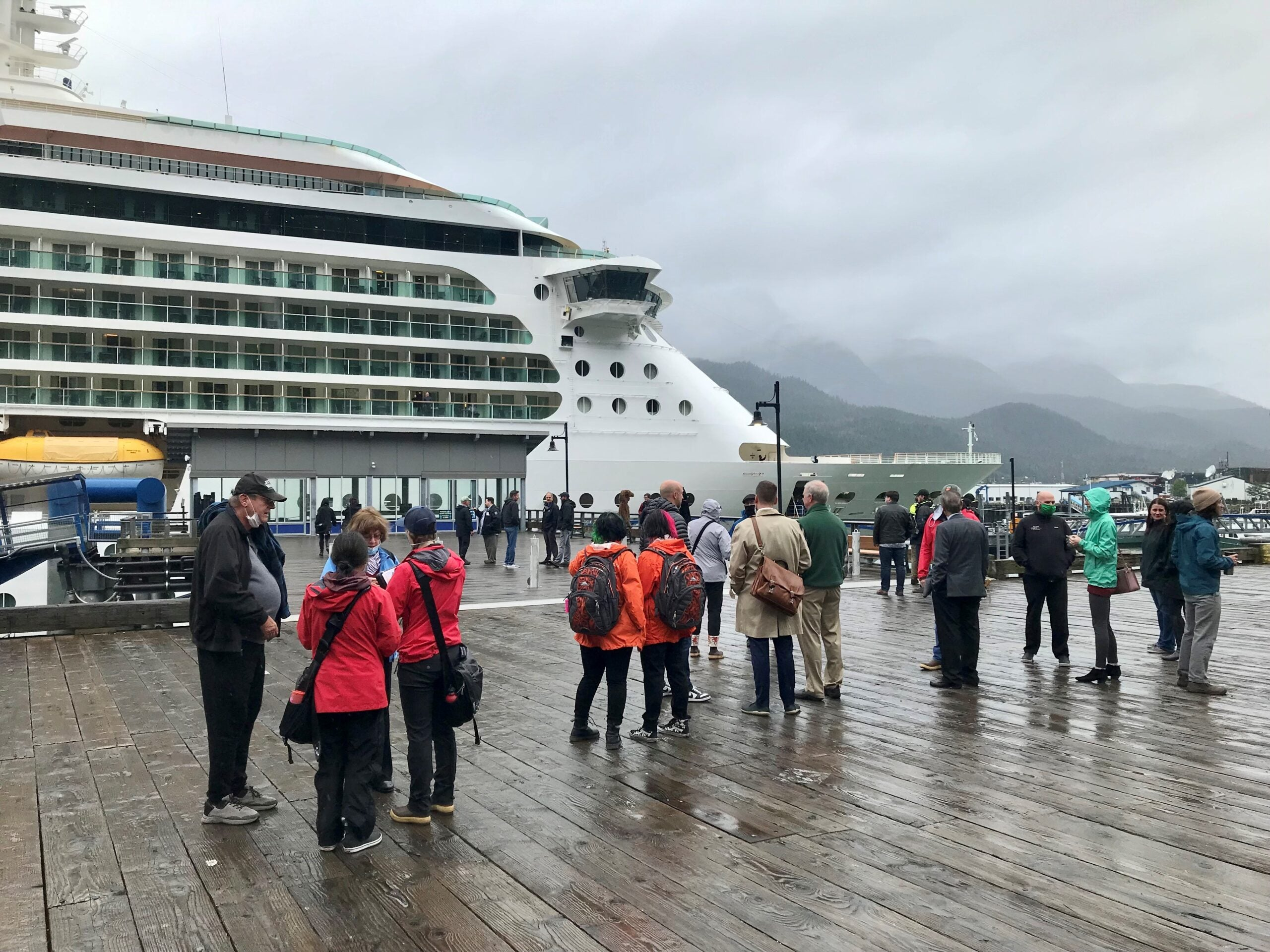 Why visiting Alaska's busiest cruise port, Juneau, is a bit surreal right now