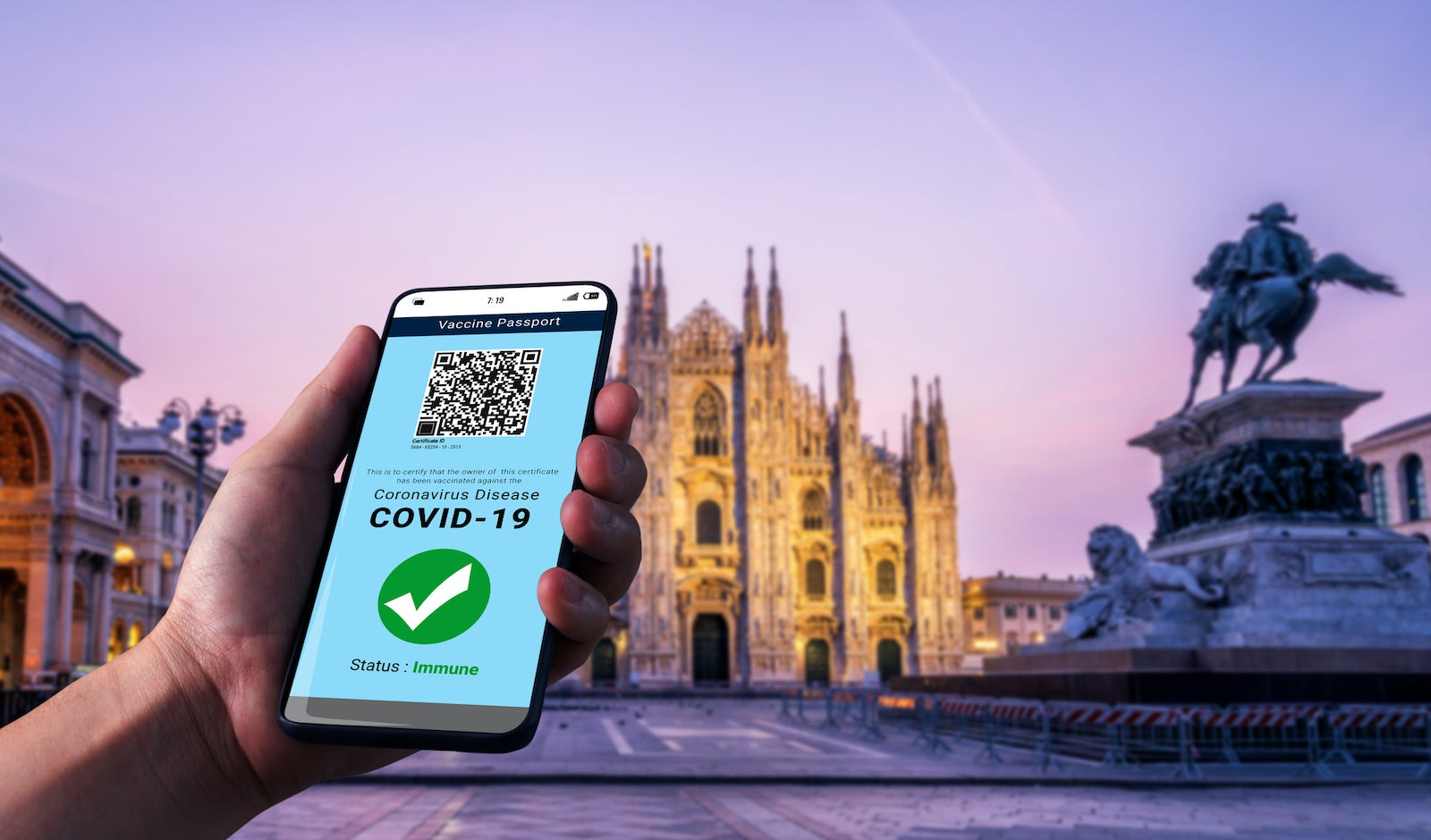 Italy to mandate COVID vaccine pass for entry to museums, theaters and restaurants - The Points Guy