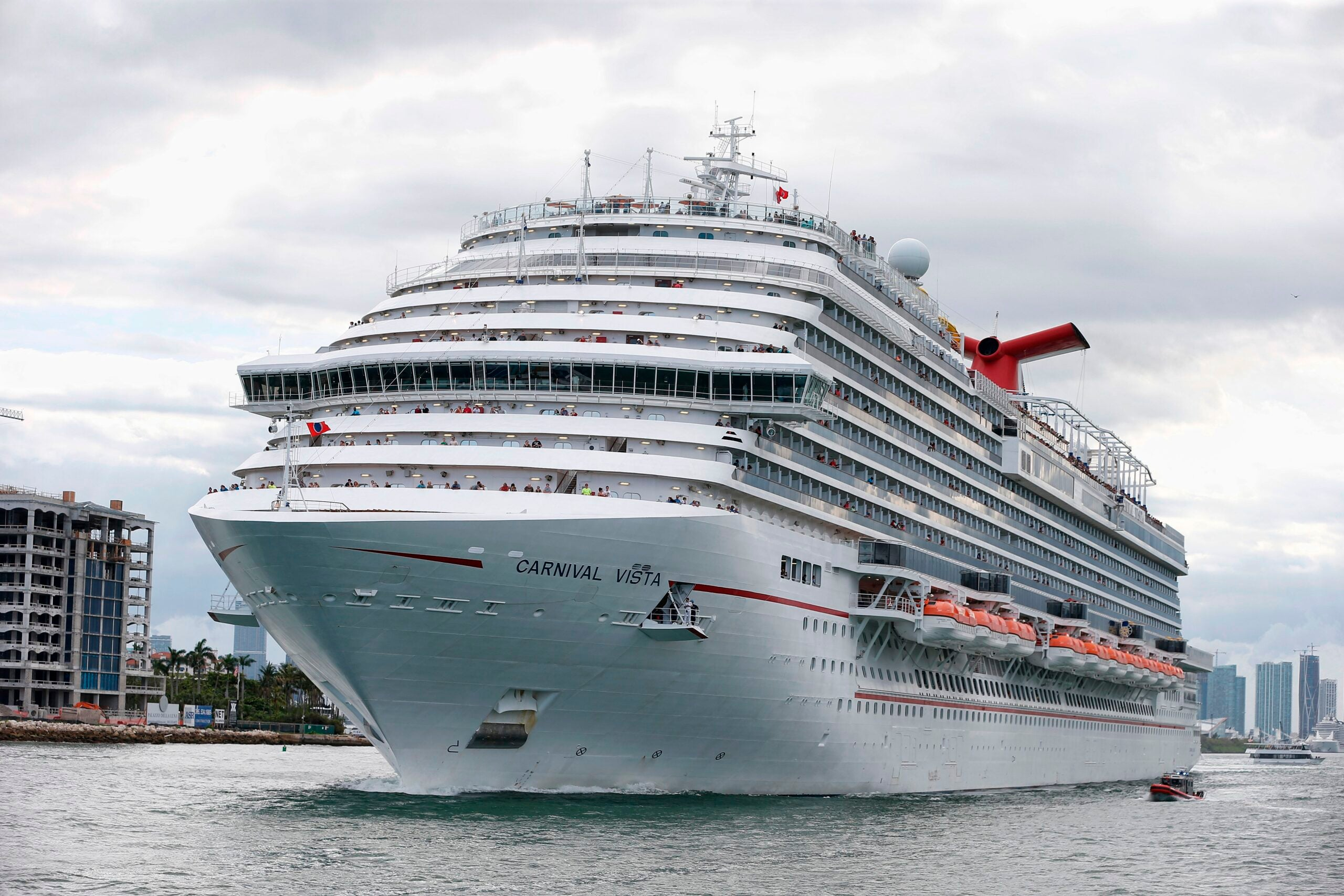 Cruise giant Carnival grapples with a significant COVID-19 outbreak on ship