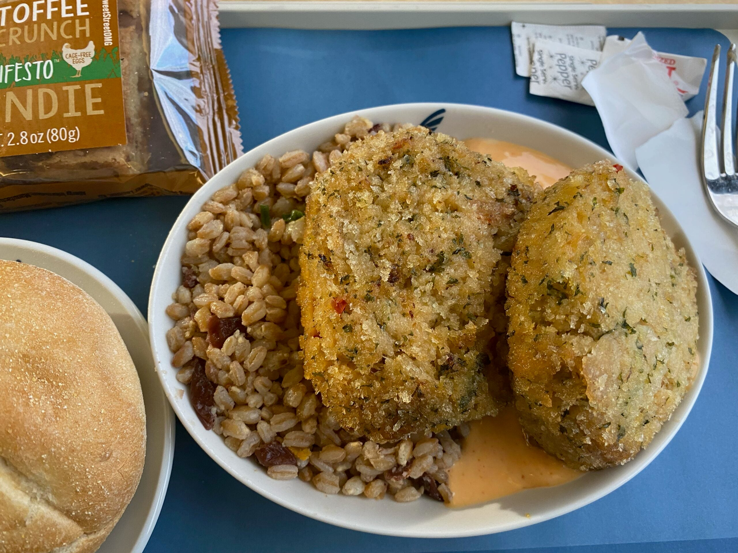 Amtrak rolled out a 'lobster crab cake' – and it was surprisingly good