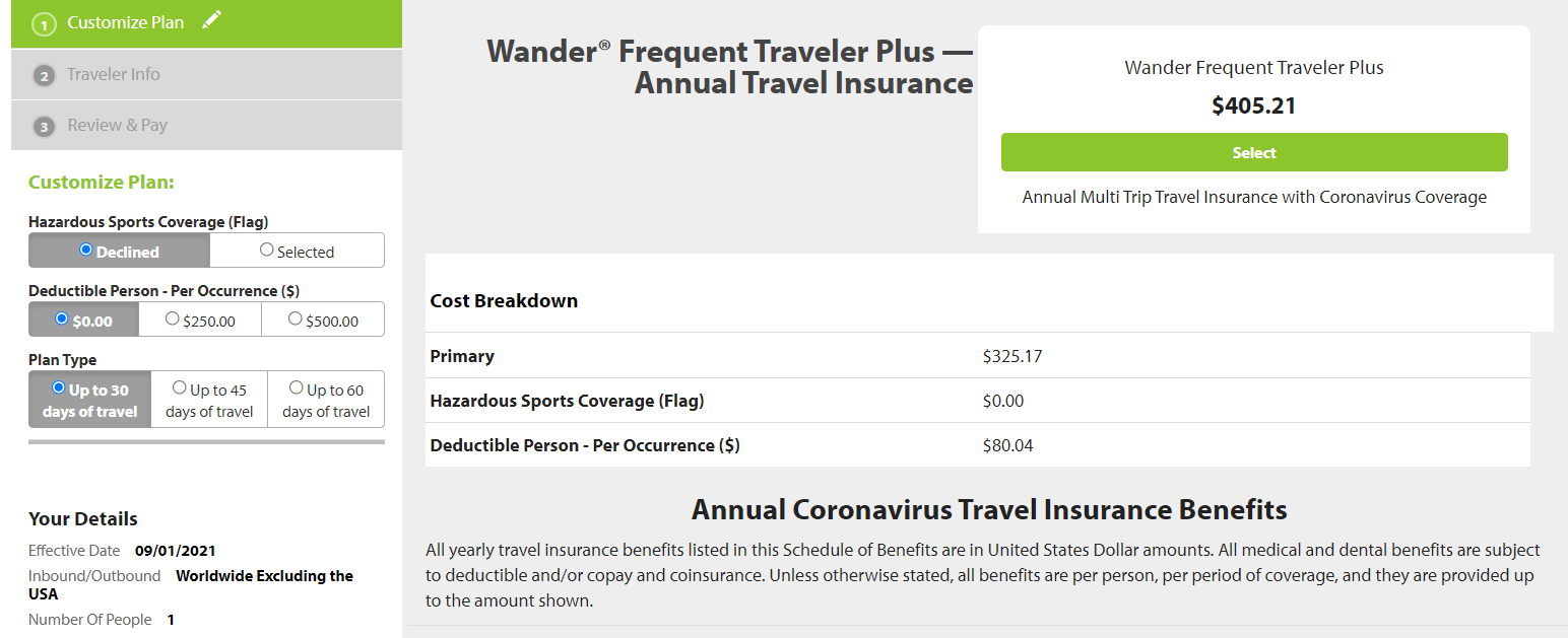 Best Travel Insurance Providers The Points Guy