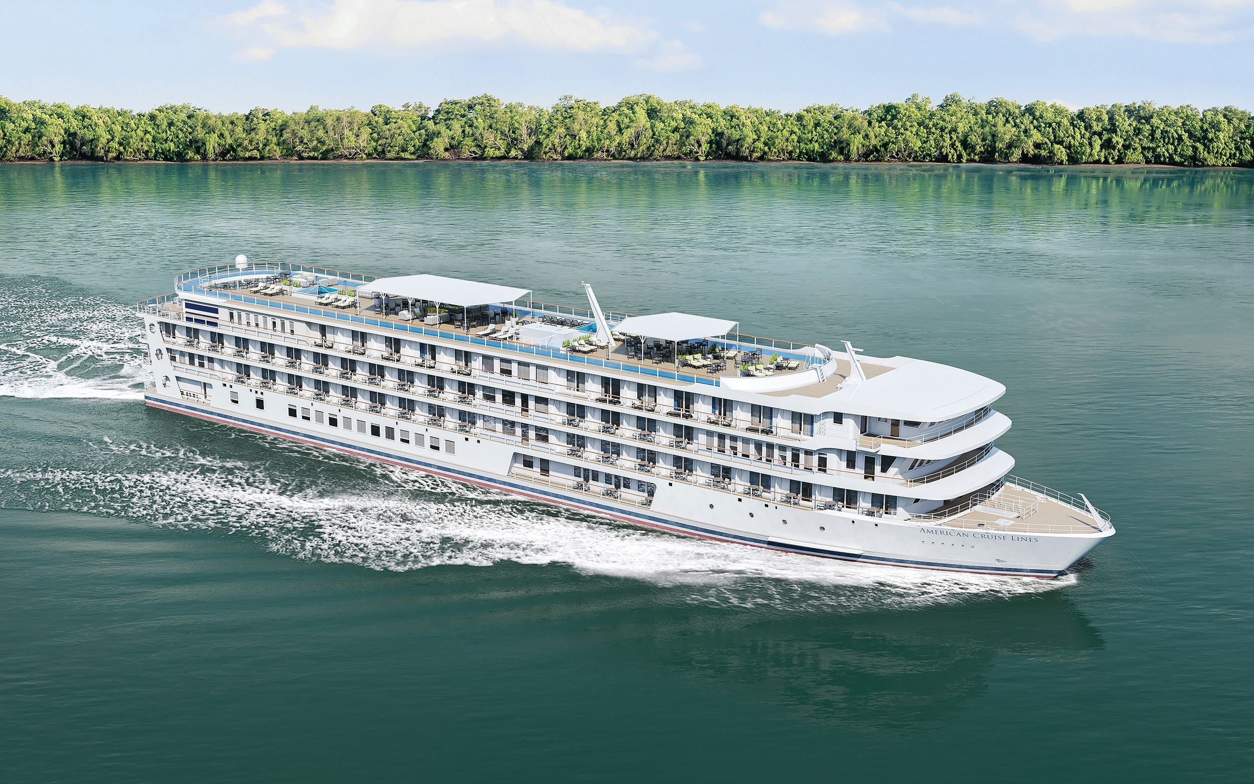 This cruise line is going to modernize its iconic paddlewheel ships