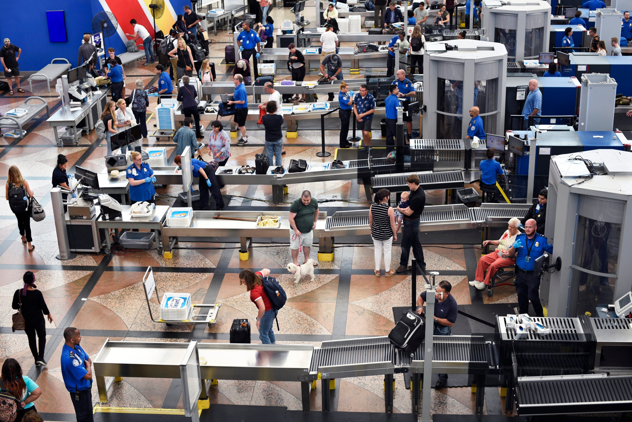 Nearly 40% of TSA workers are unvaccinated ahead of November deadline