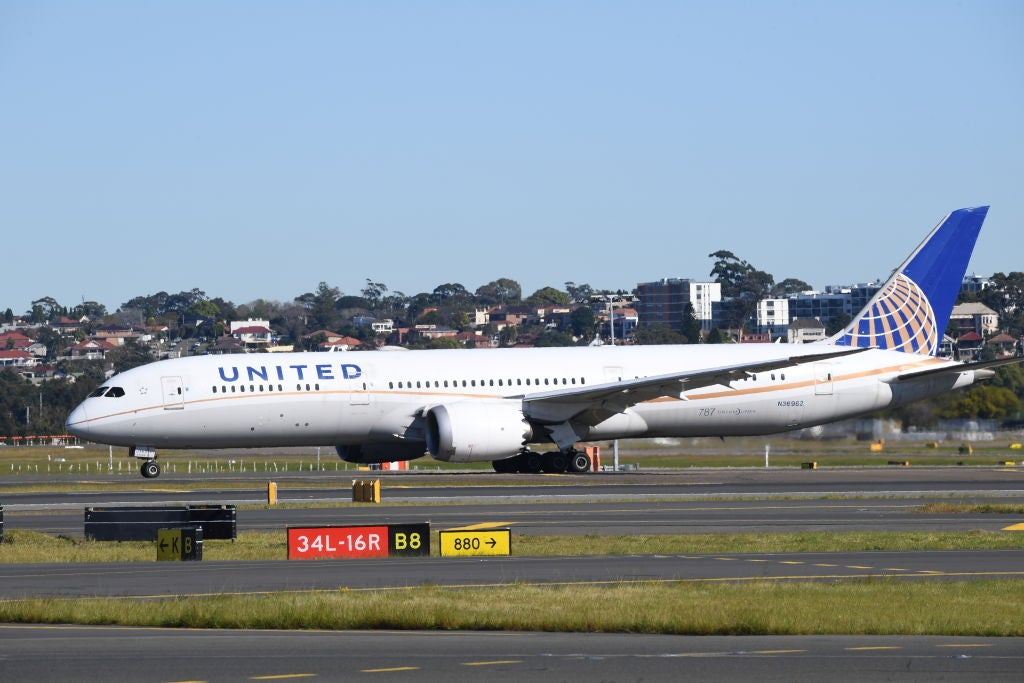 United Airlines blames flight tipping backwards on weight imbalance - The Points Guy