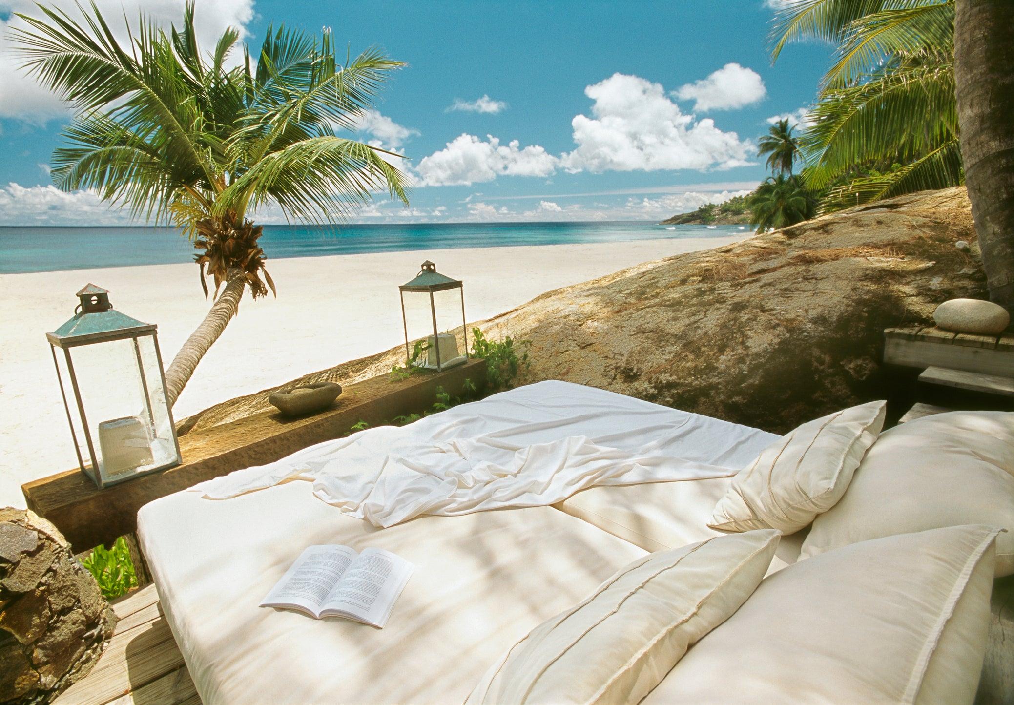 Seychelles, North Island, main beach