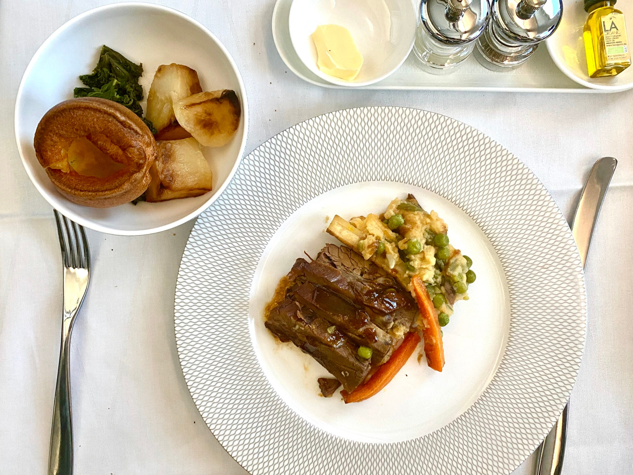 I flew to London just to try a new limited-time inflight meal. British Airways almost didn't deliver - The Points Guy