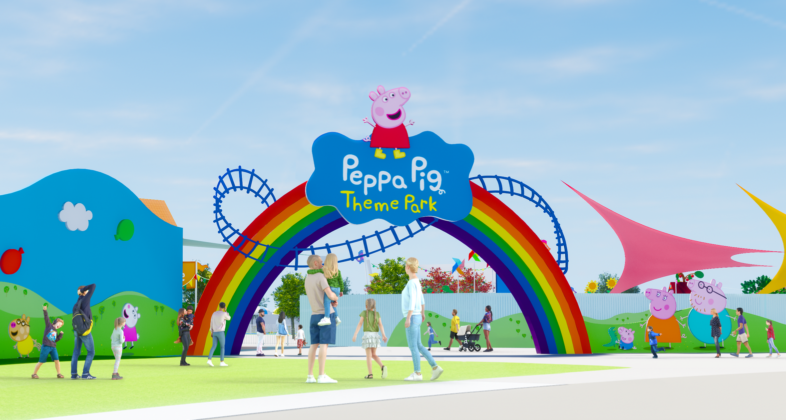 World's First Peppa Pig Theme Park to Open in 2022 in Florida